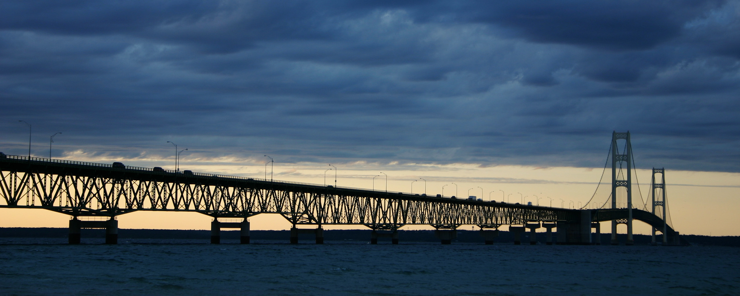 mackinac Bridge for contest HD Wallpaper