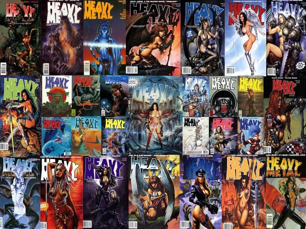 Magazines Heavy Metal Magazine