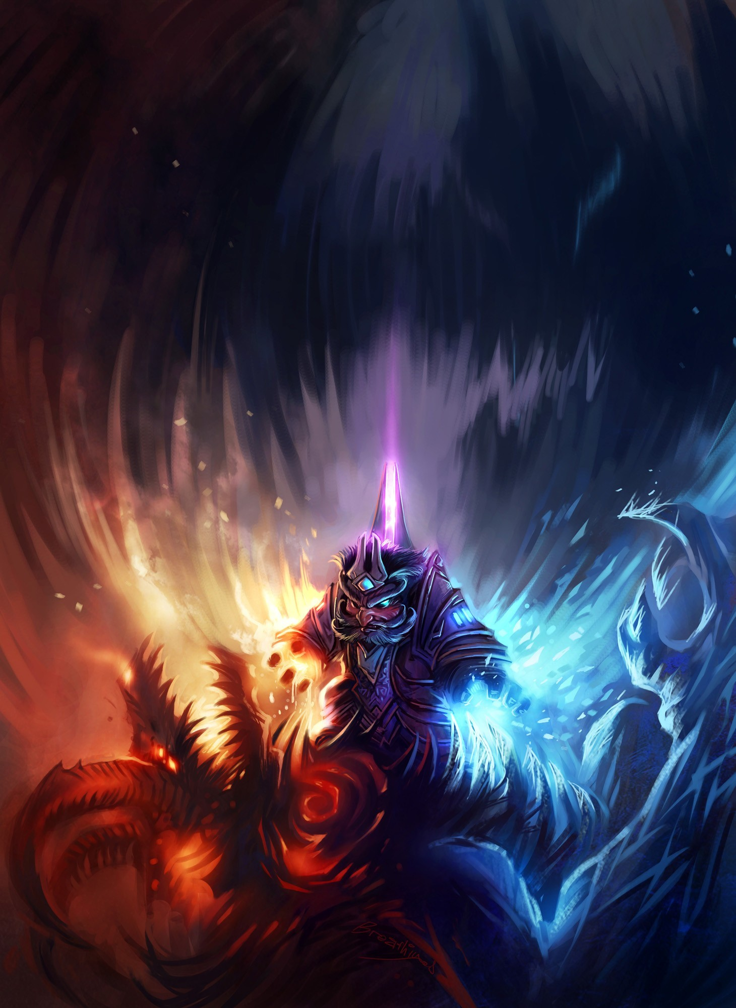mage video games world HD Wallpaper