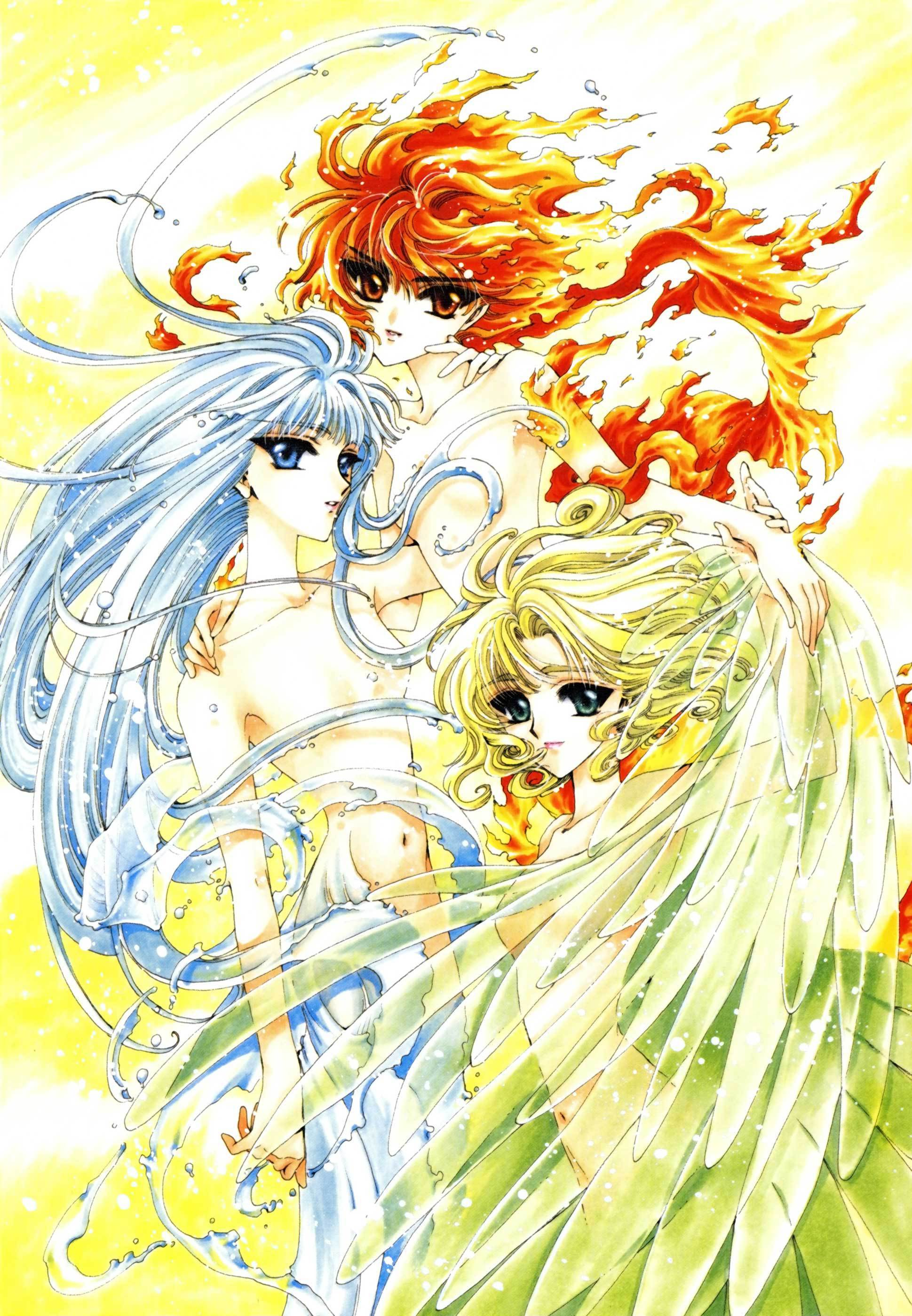 magic knight rayearth Anime HD Wallpaper