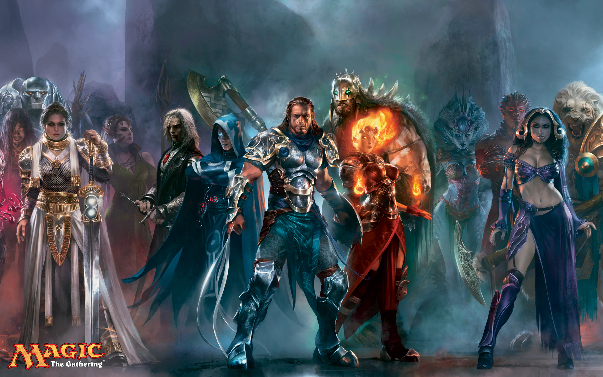 magic: the gathering fantasy HD Wallpaper