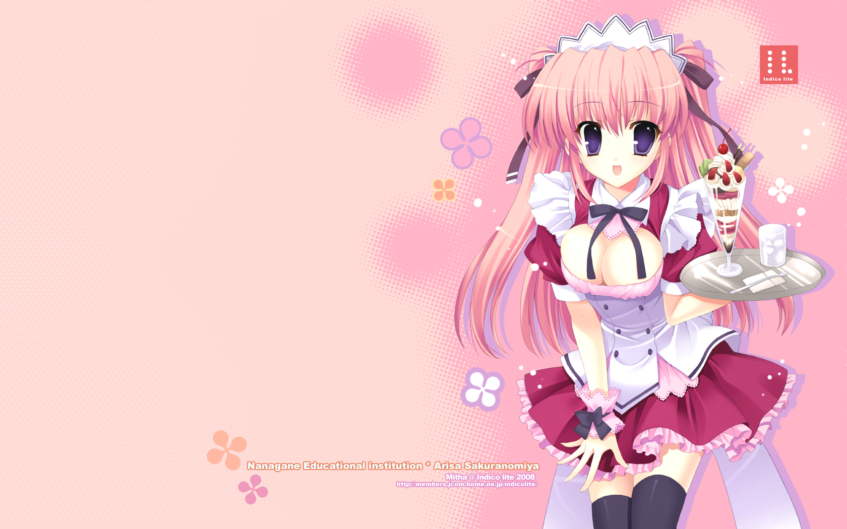 maids indico lite Anime HD Wallpaper