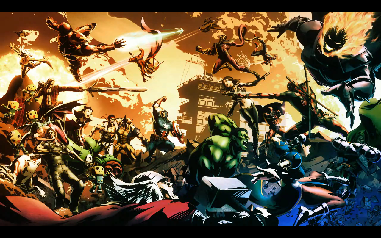 make Anime mvc3 epicbg HD Wallpaper