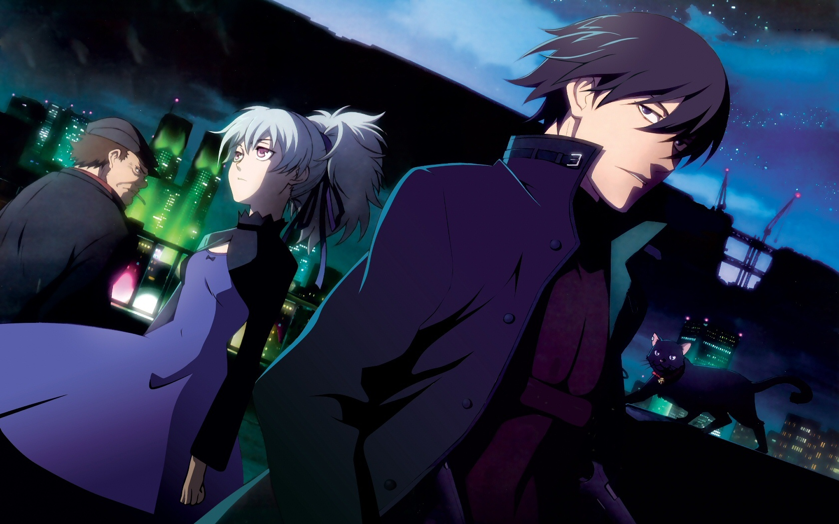Mao (Darker Than Black) HD Wallpaper