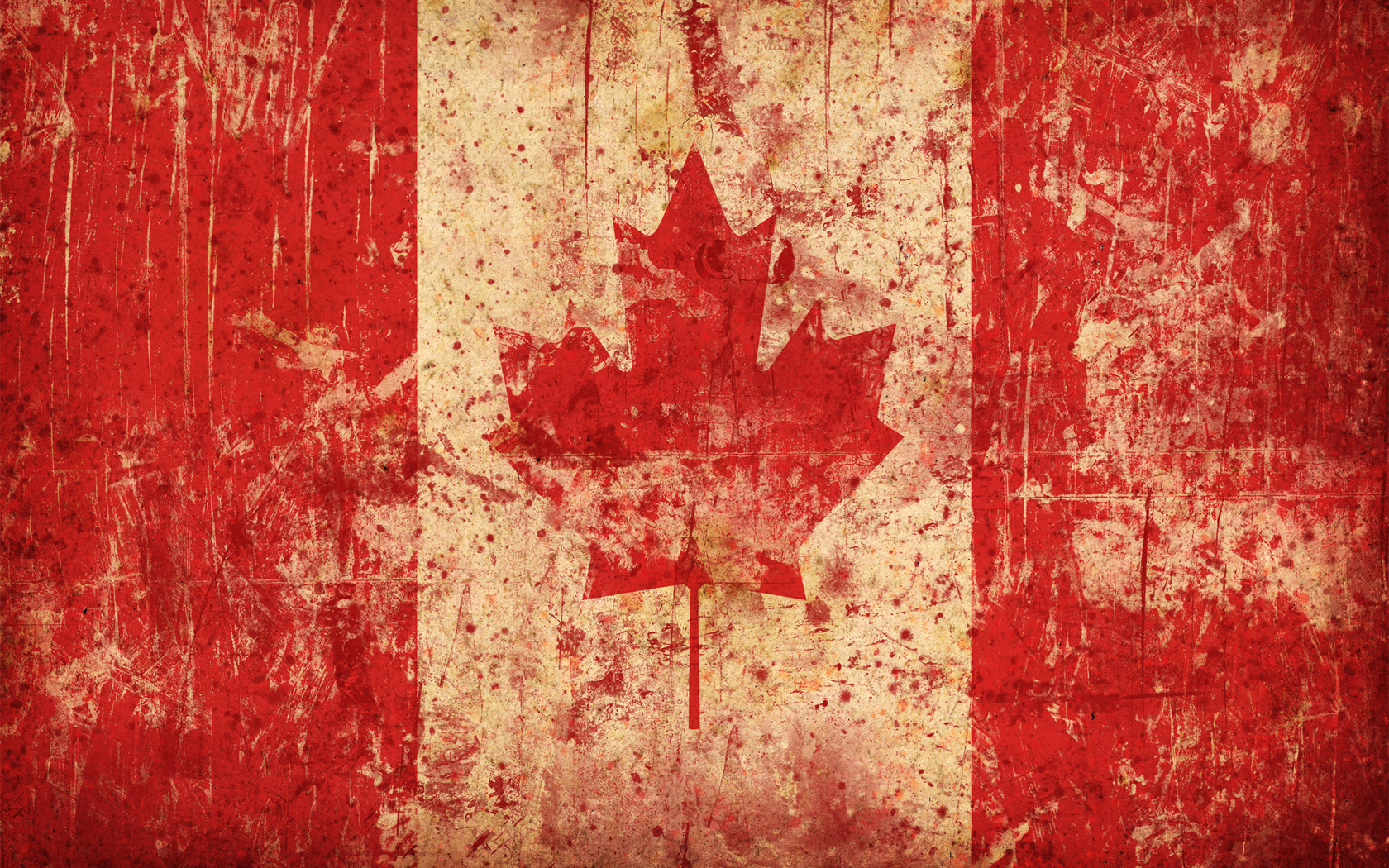 maple leaf Canadian flag HD Wallpaper