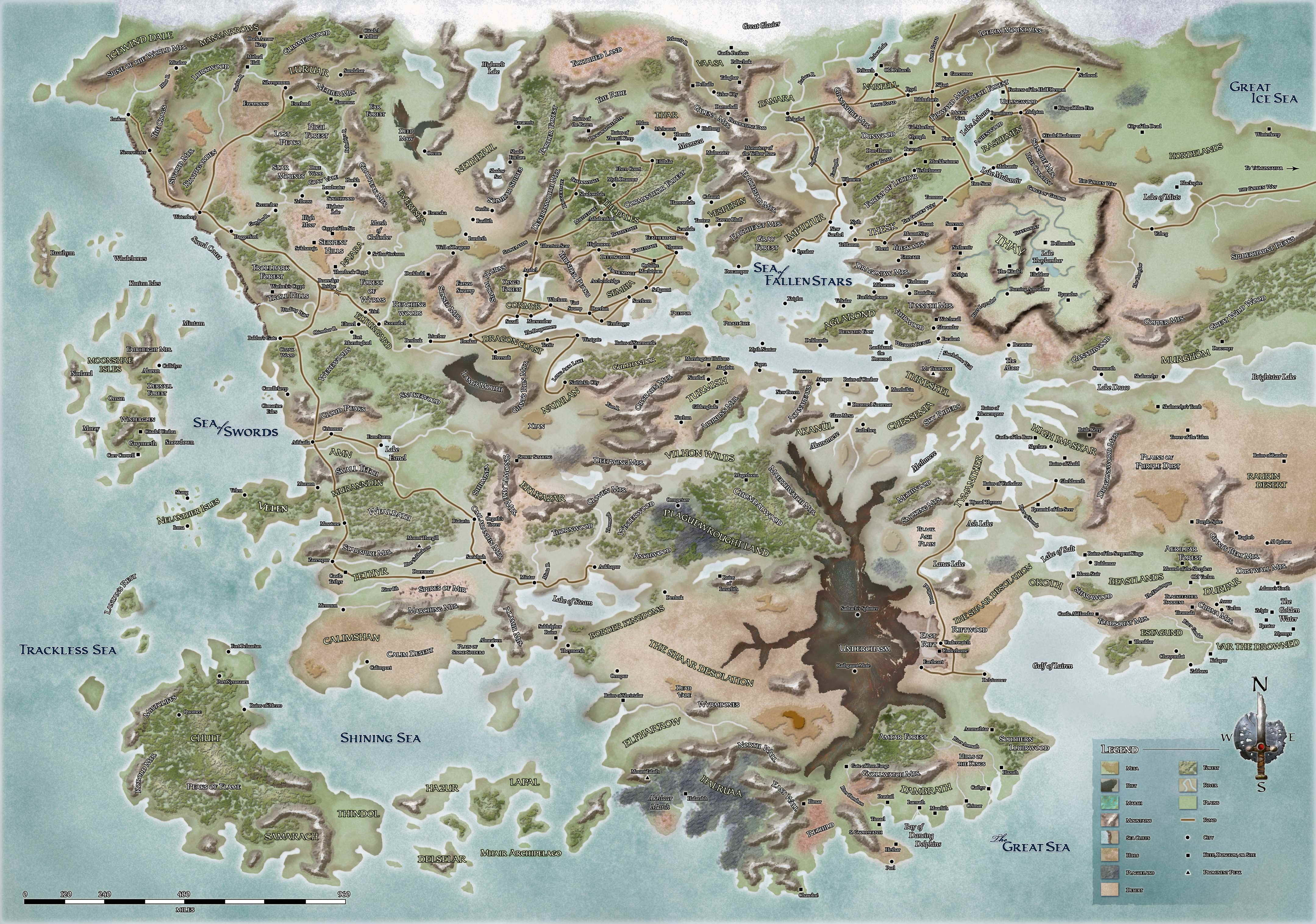 Maps dungeons and dragons HD Wallpaper