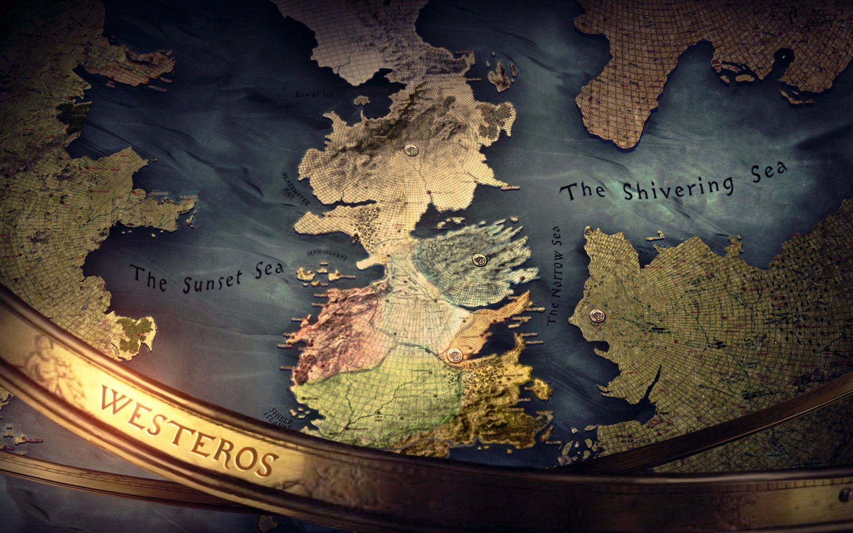 Maps game of thrones HD Wallpaper