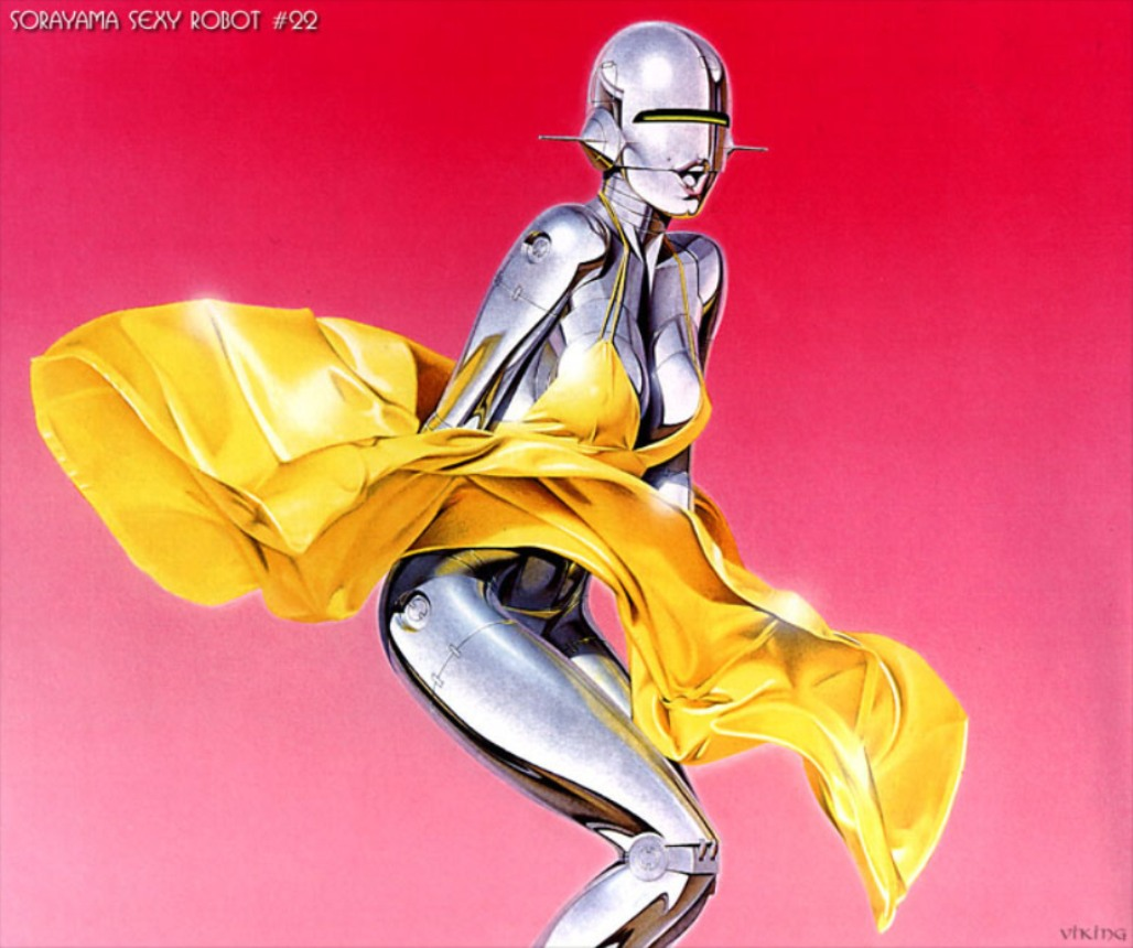Marilyn Monroe gynoid Sorayama HD Wallpaper
