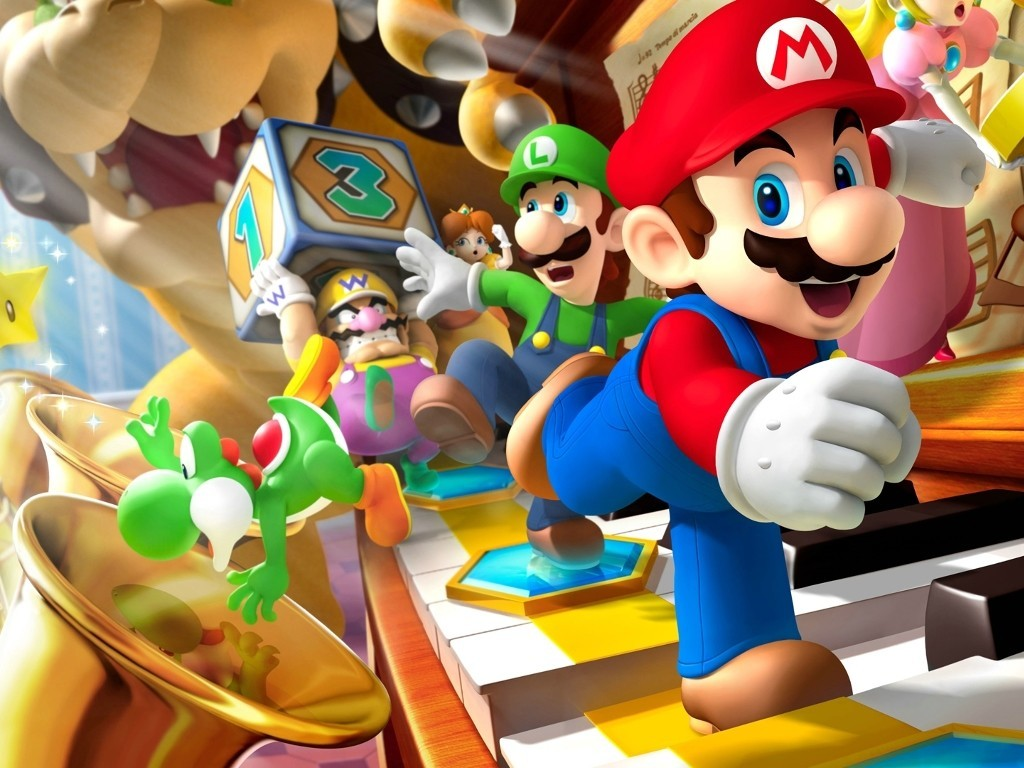 Mario party HD Wallpaper