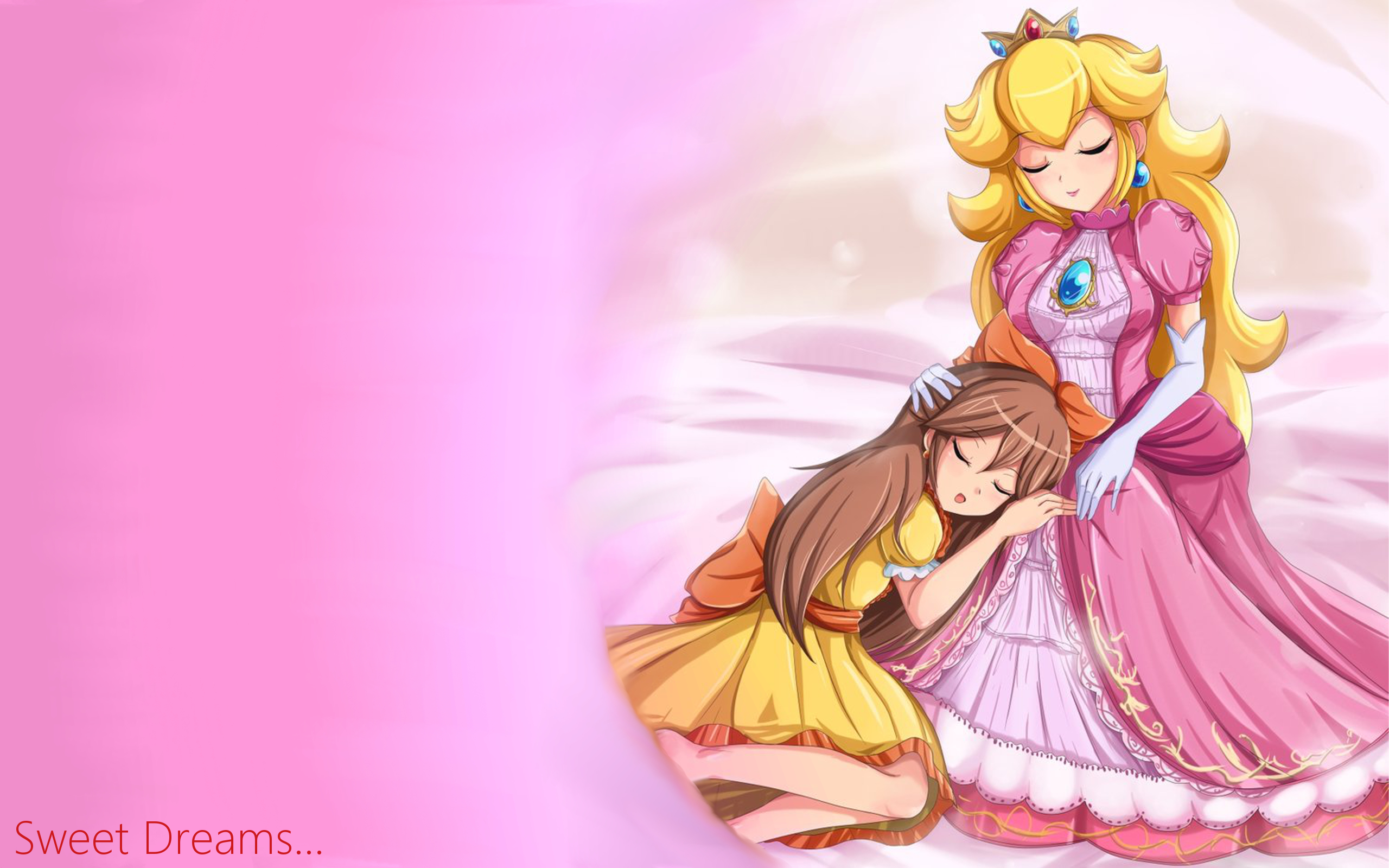 Mario Princess peach Anime HD Wallpaper