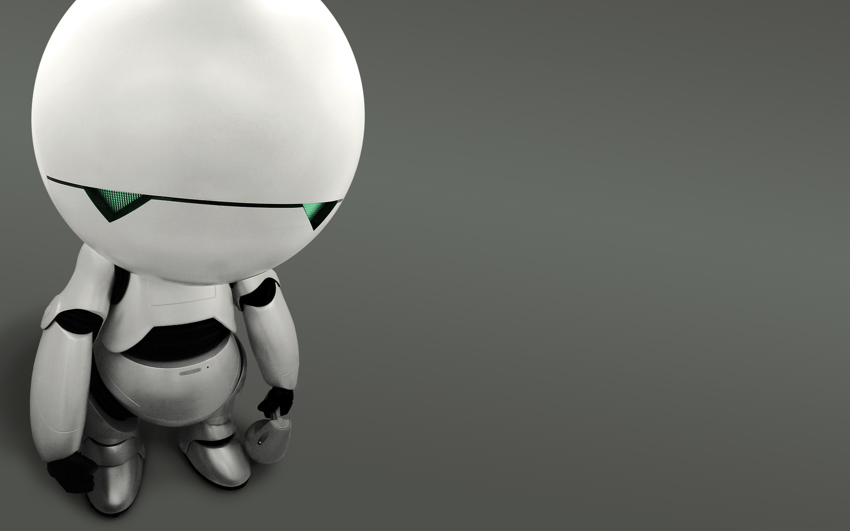 Marvin the Paranoid Android HD Wallpaper