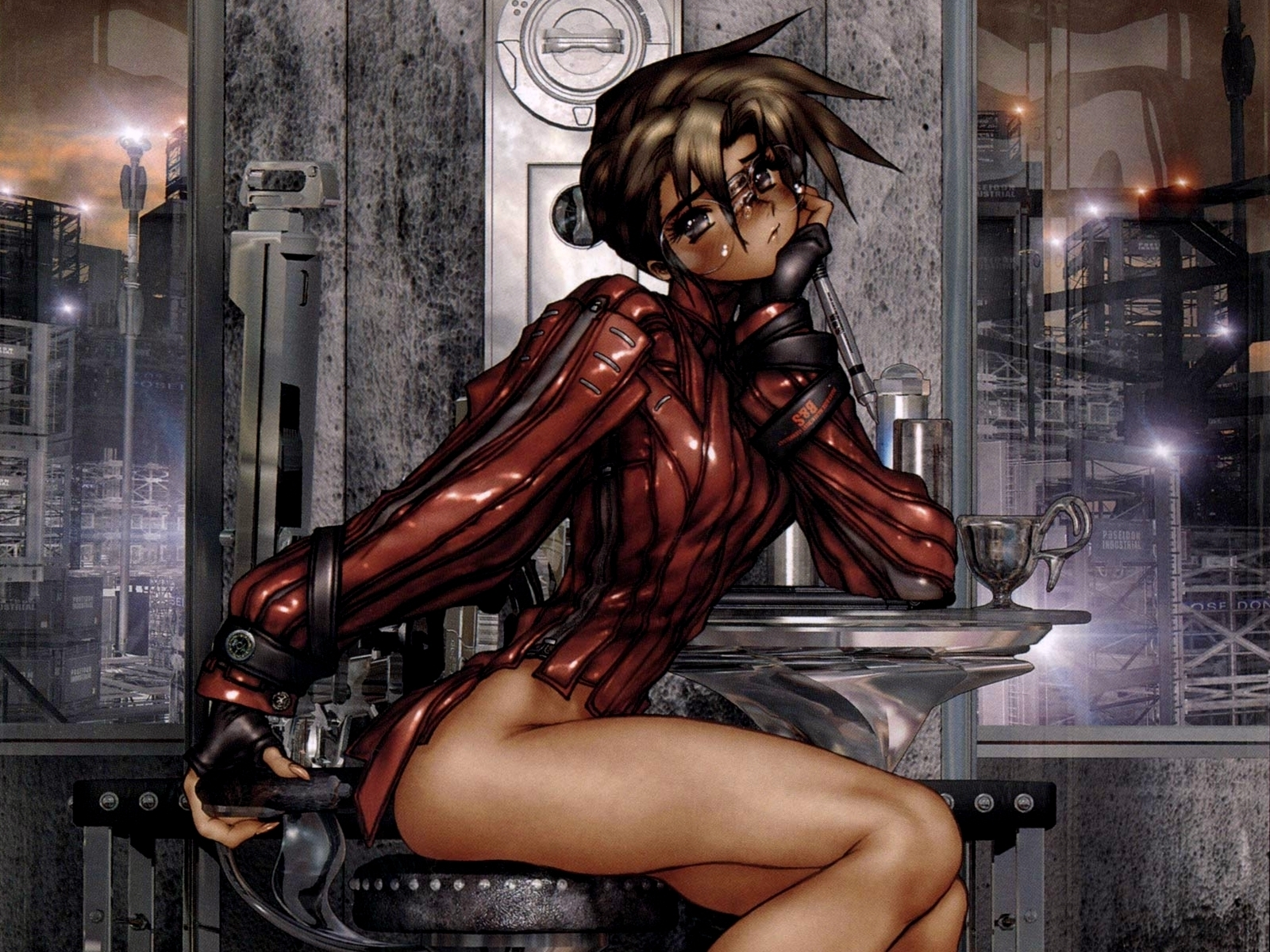 Masamune Shirow anime girls HD Wallpaper