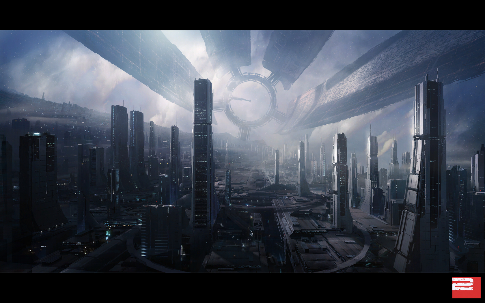 mass effect citadel game HD Wallpaper