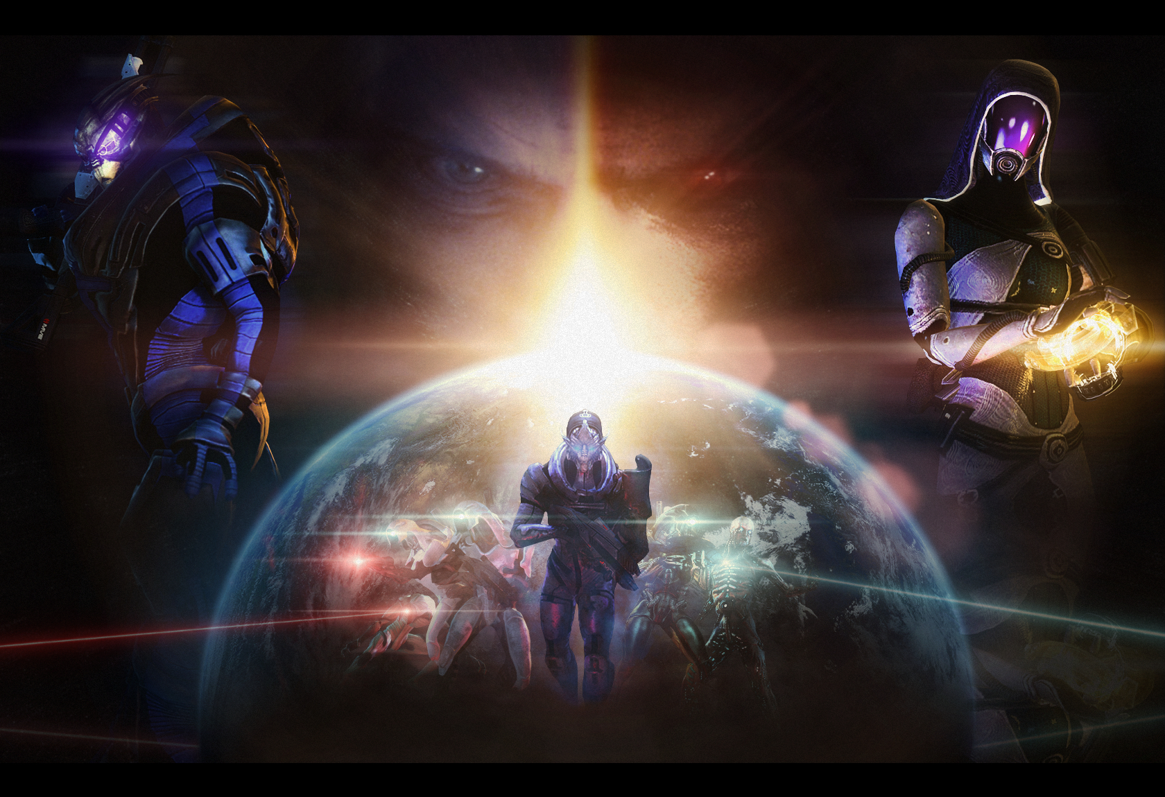 mass effect game HD Wallpaper
