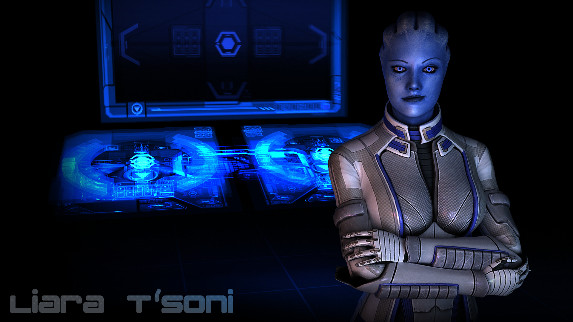 mass effect liara tsoni HD Wallpaper