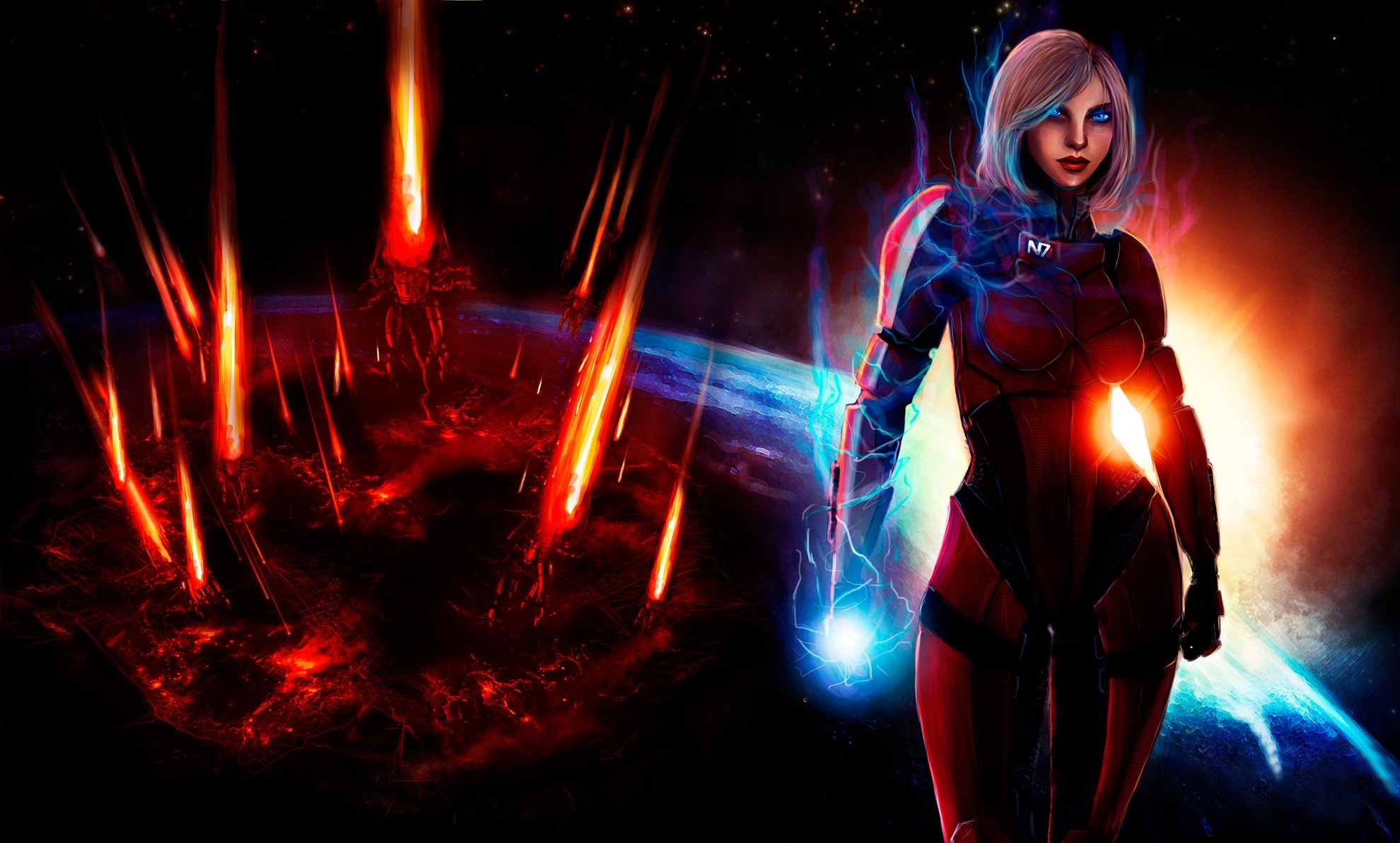 mass effect mass effect HD Wallpaper