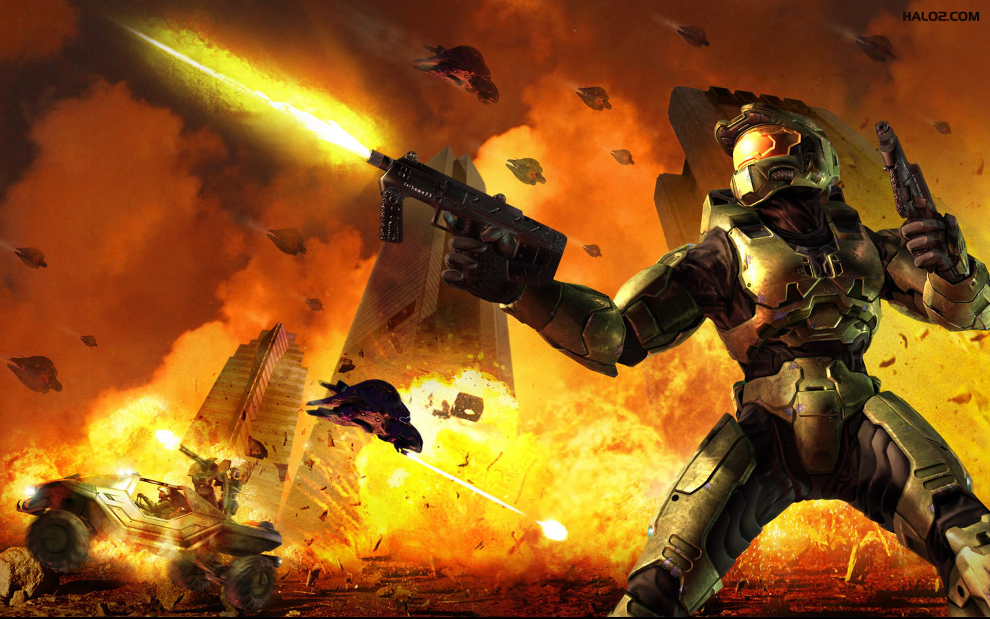 master Chief halo game HD Wallpaper