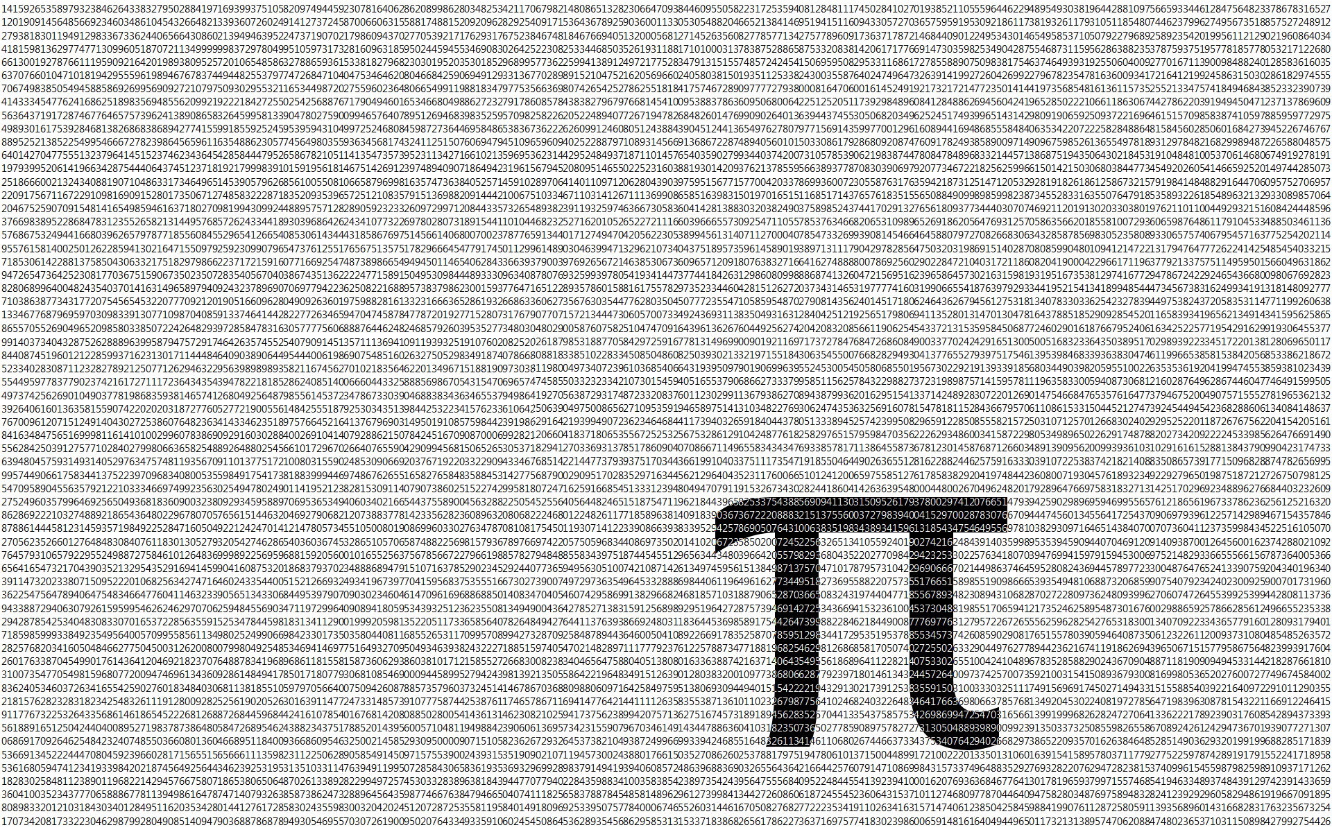 mathematics pi HD Wallpaper