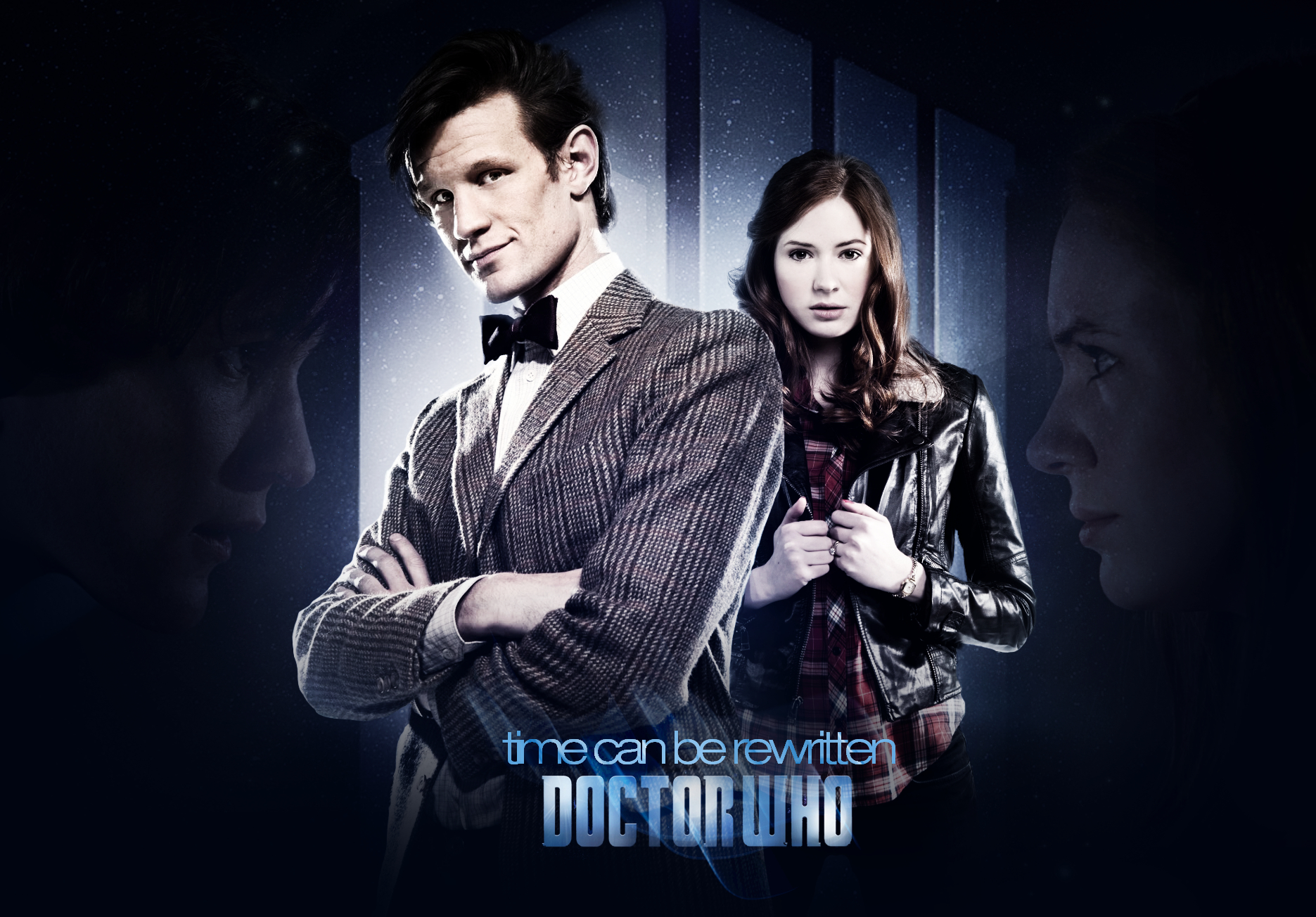 matt smith karen gillan HD Wallpaper