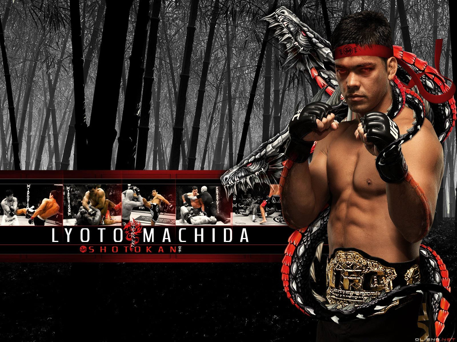 matting lyoto machida from HD Wallpaper