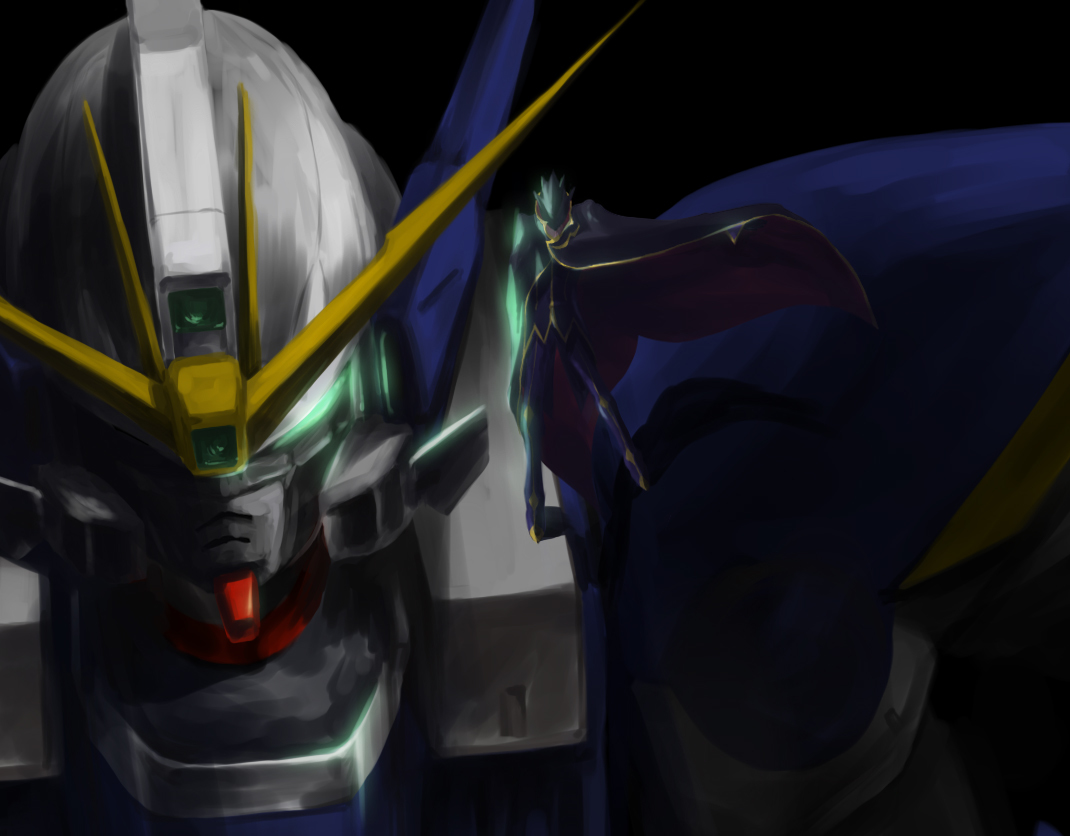 mecha lamperouge lelouch code HD Wallpaper