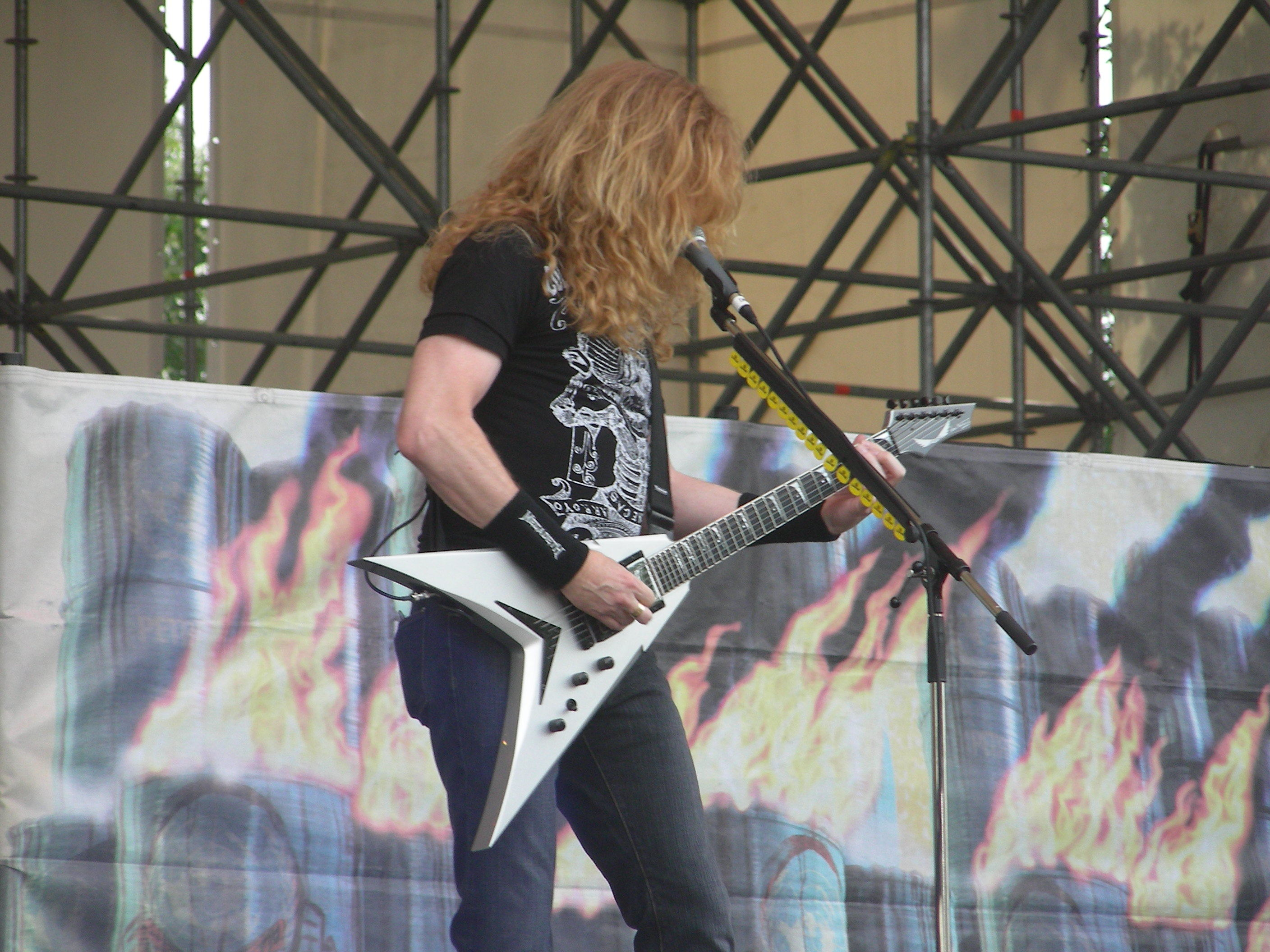 megadeth Dave Mustaine HD Wallpaper