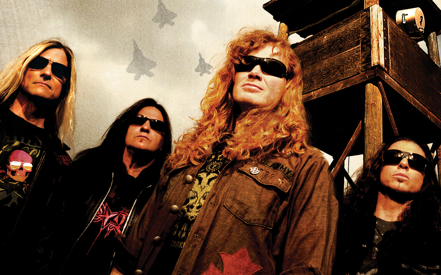 megadeth Dave Mustaine Republican HD Wallpaper
