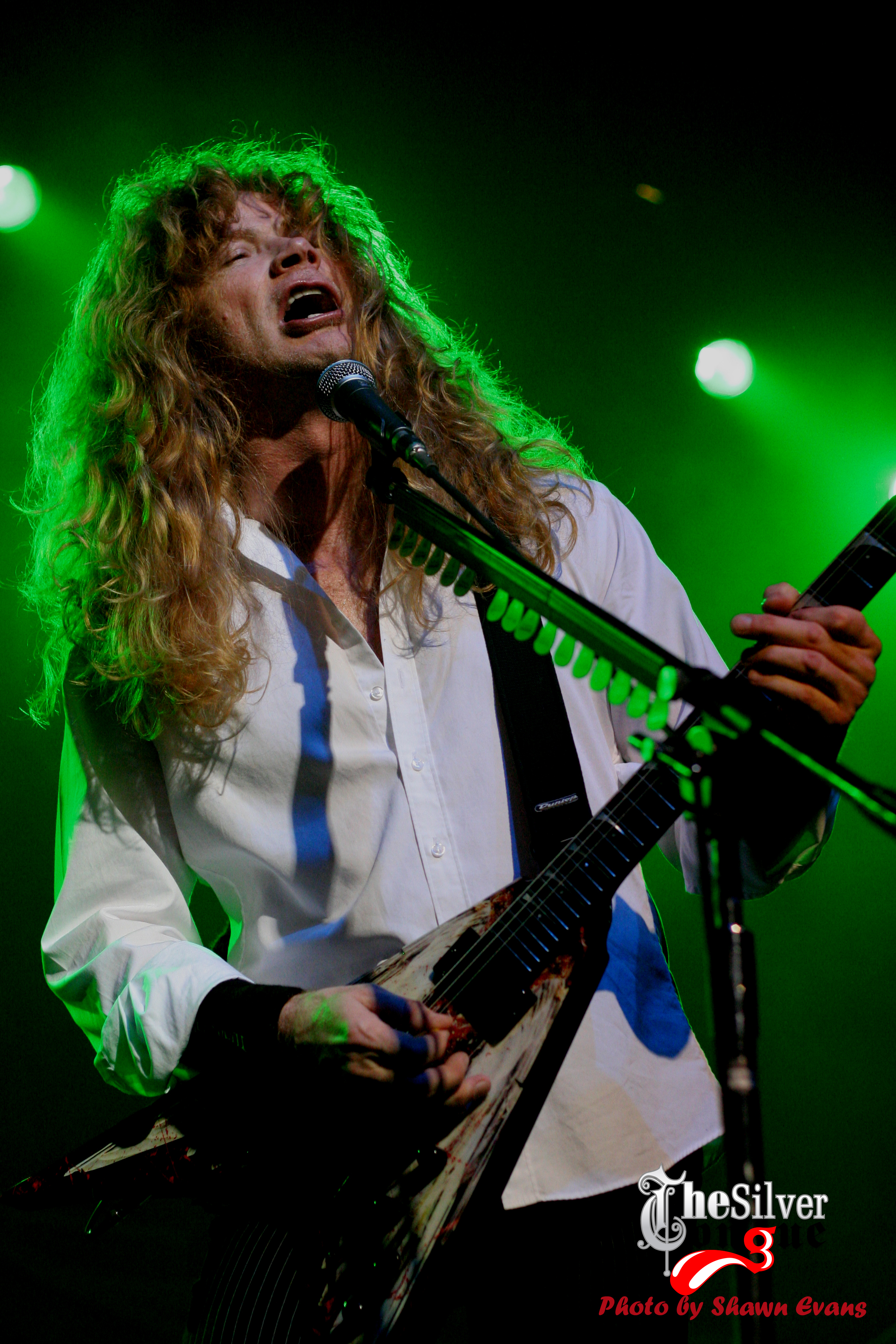 megadeth dave mustaine Thrash HD Wallpaper