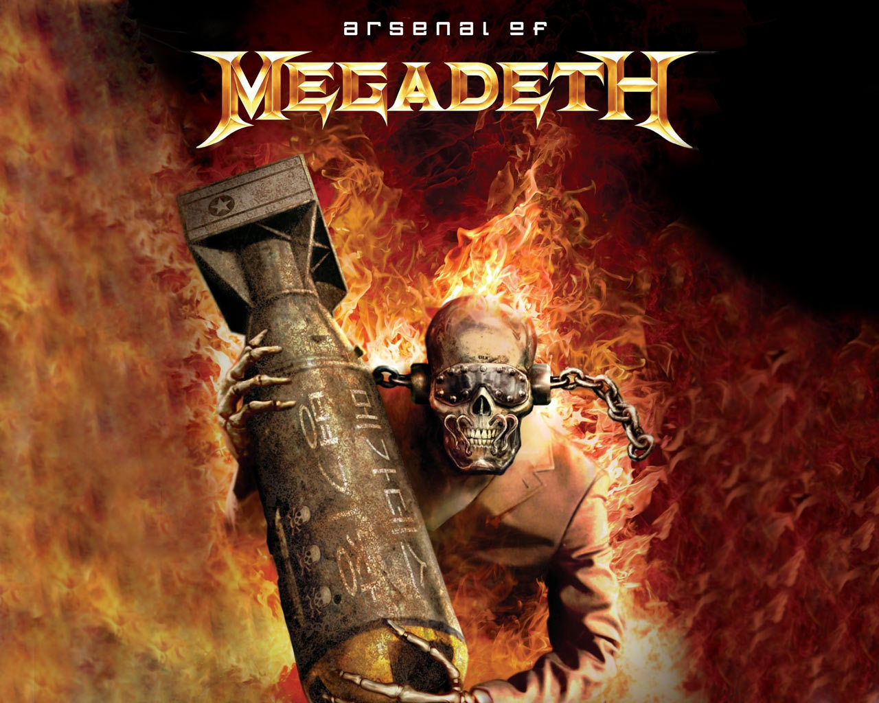 megadeth heavy metal HD Wallpaper