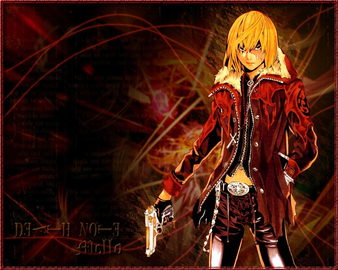 Mello Manga Anime HD Wallpaper
