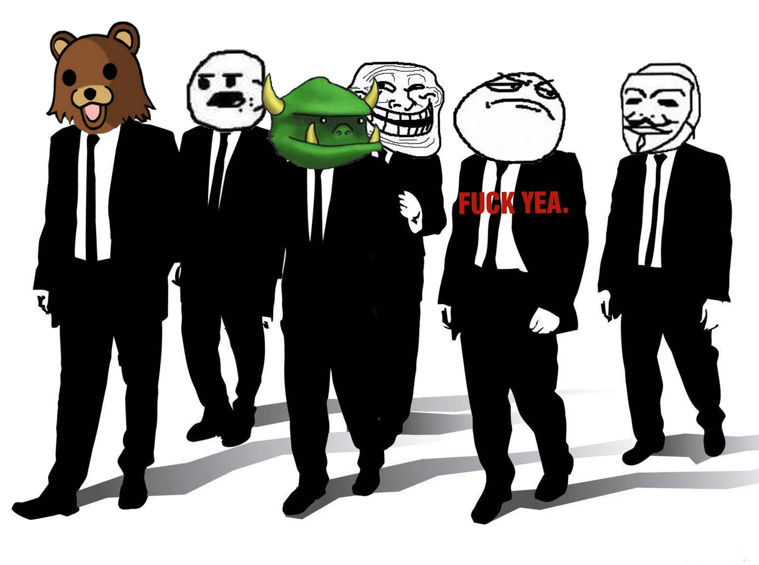 meme Reservoir Dogs crossovers HD Wallpaper