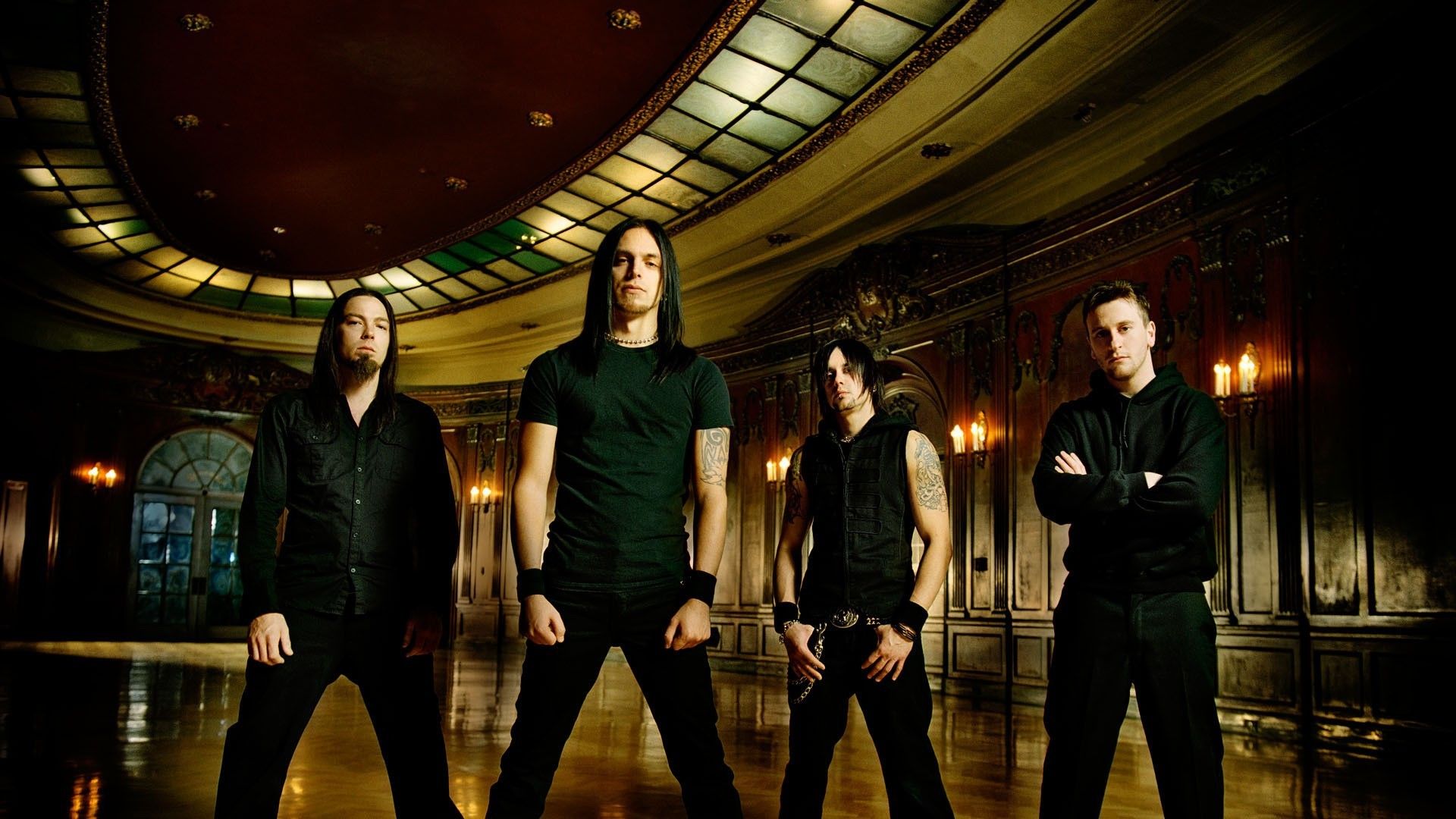 Men band bullet for HD Wallpaper