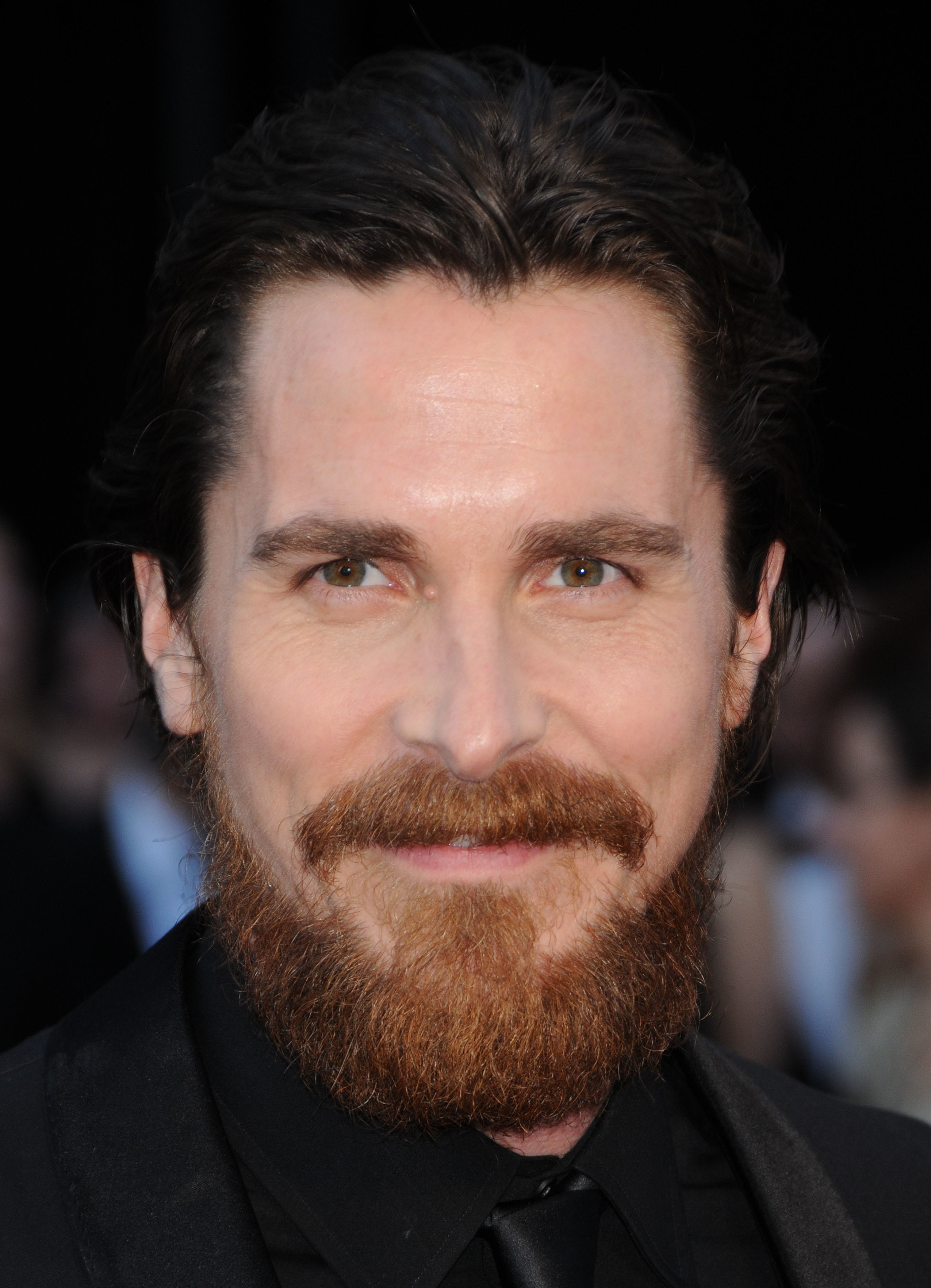Men Christian Bale beard HD Wallpaper