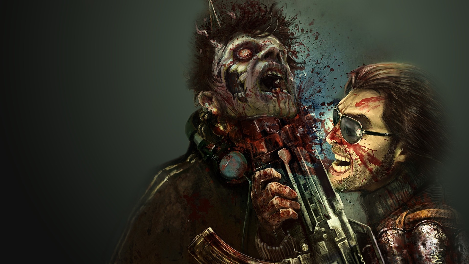 Men gore dead nation HD Wallpaper