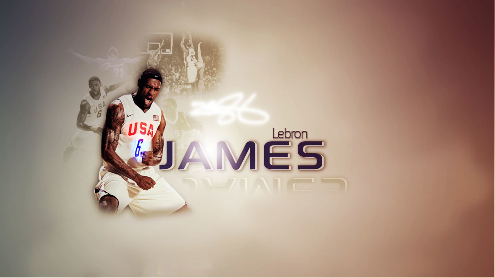 Men lebron James Athletes HD Wallpaper