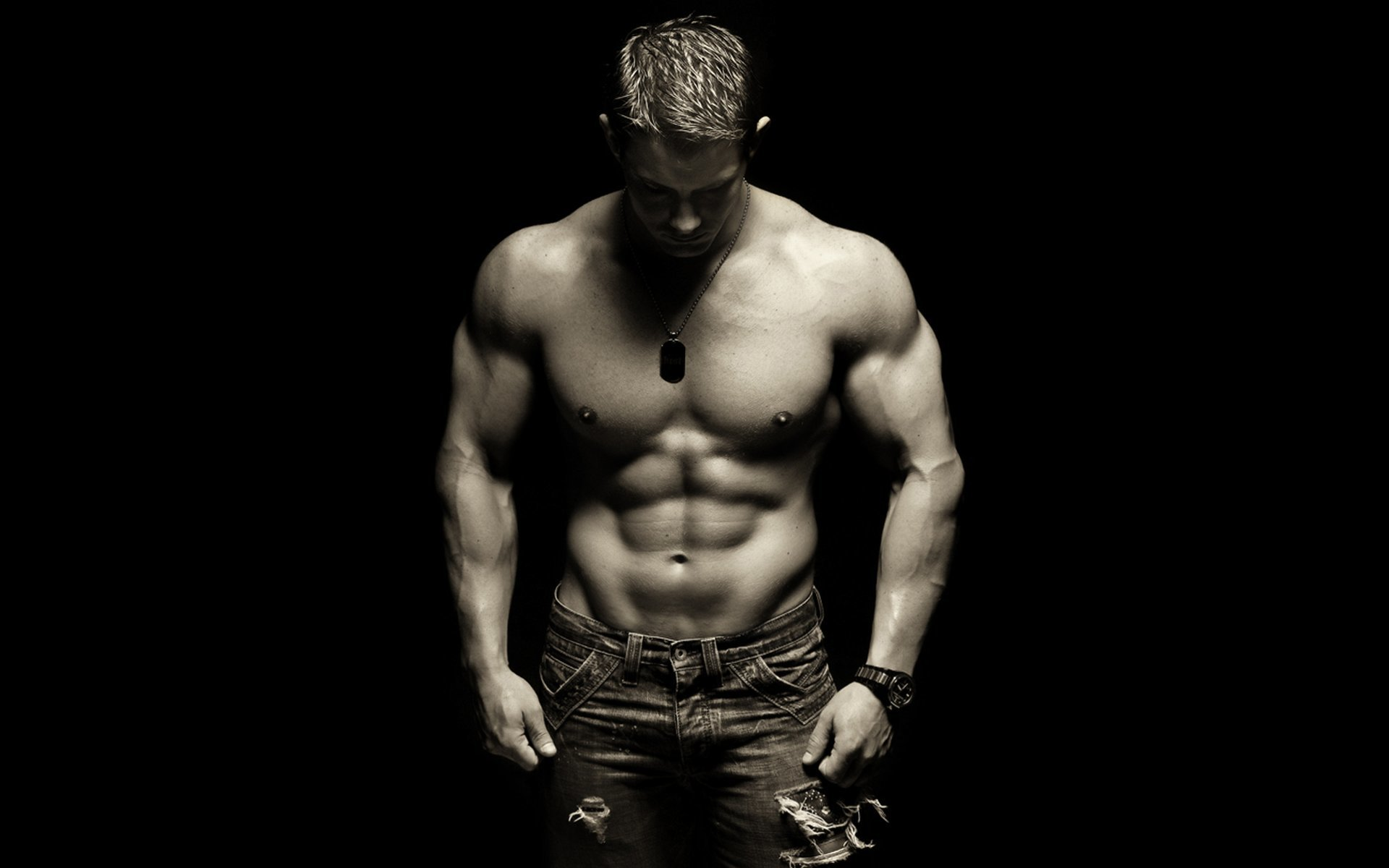 Men male models HD Wallpaper