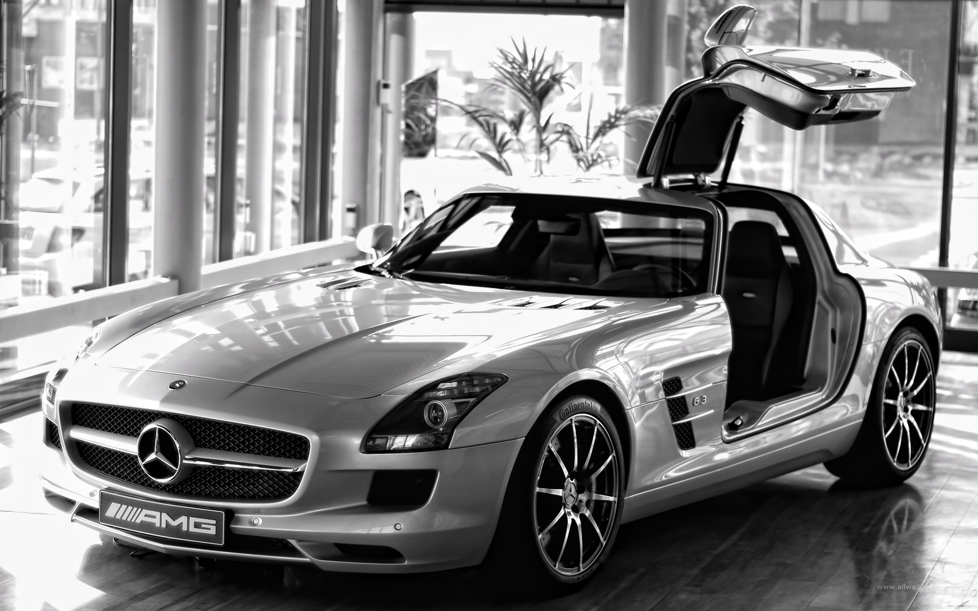 Mercedes-Benz Mercedes-Benz SLS AMG HD Wallpaper