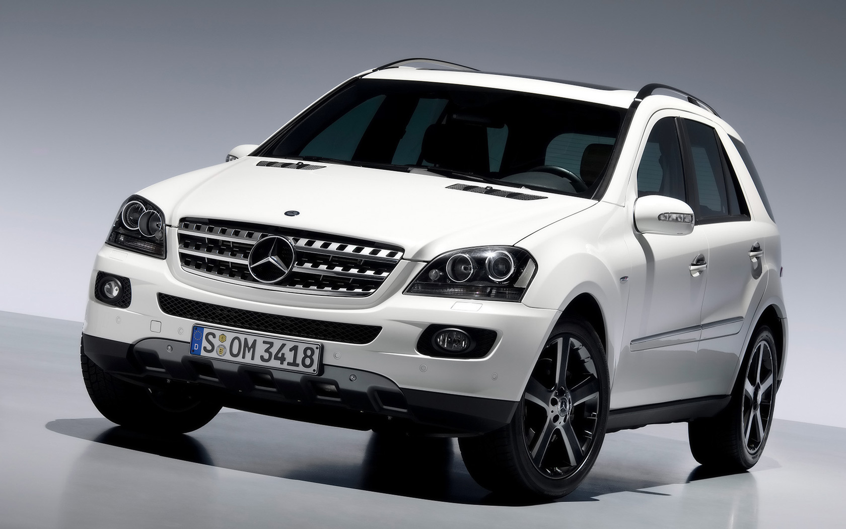 Mercedes Benz ML German