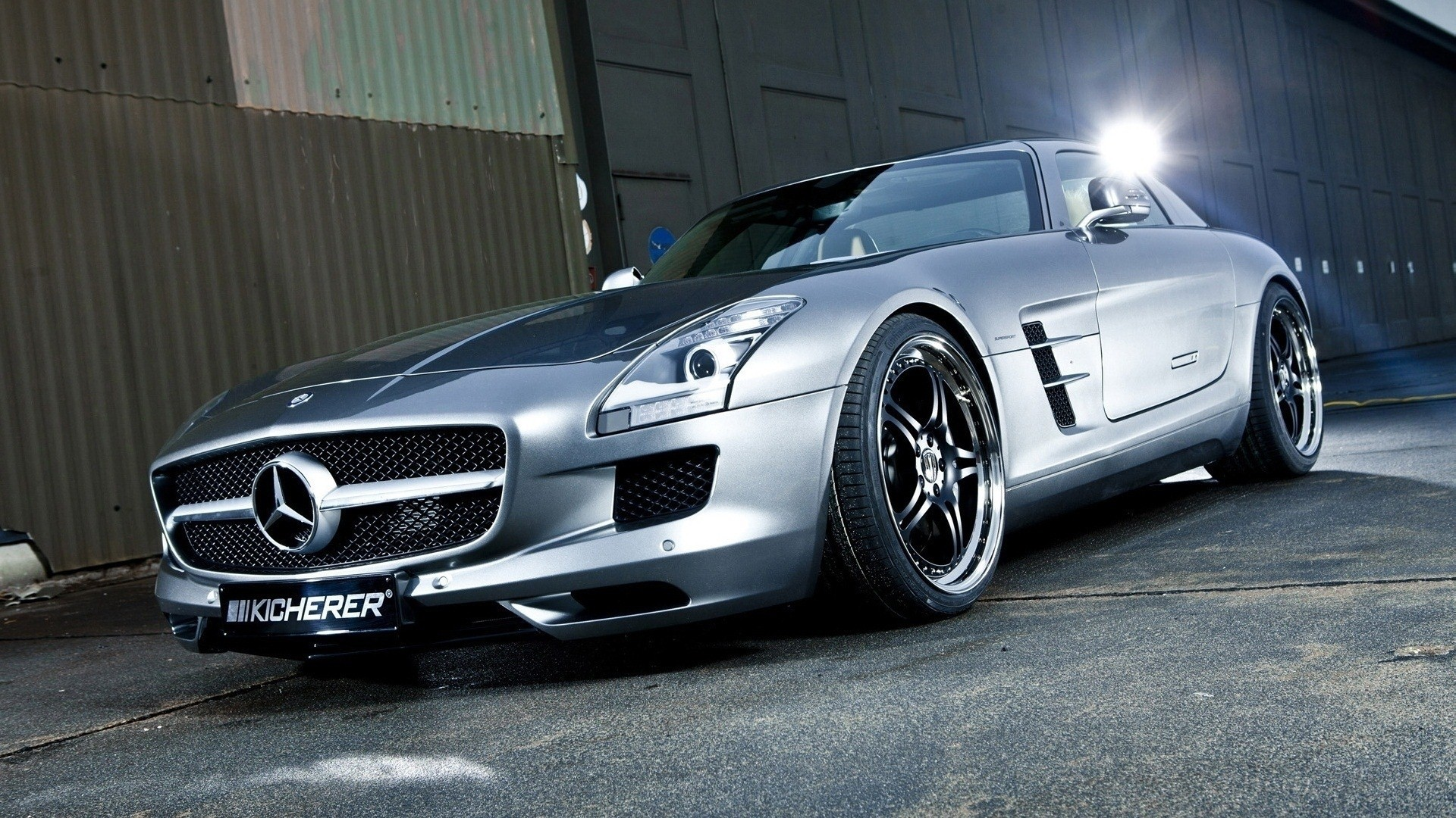 Mercedes-Benz SLS AMG E-Cell HD Wallpaper