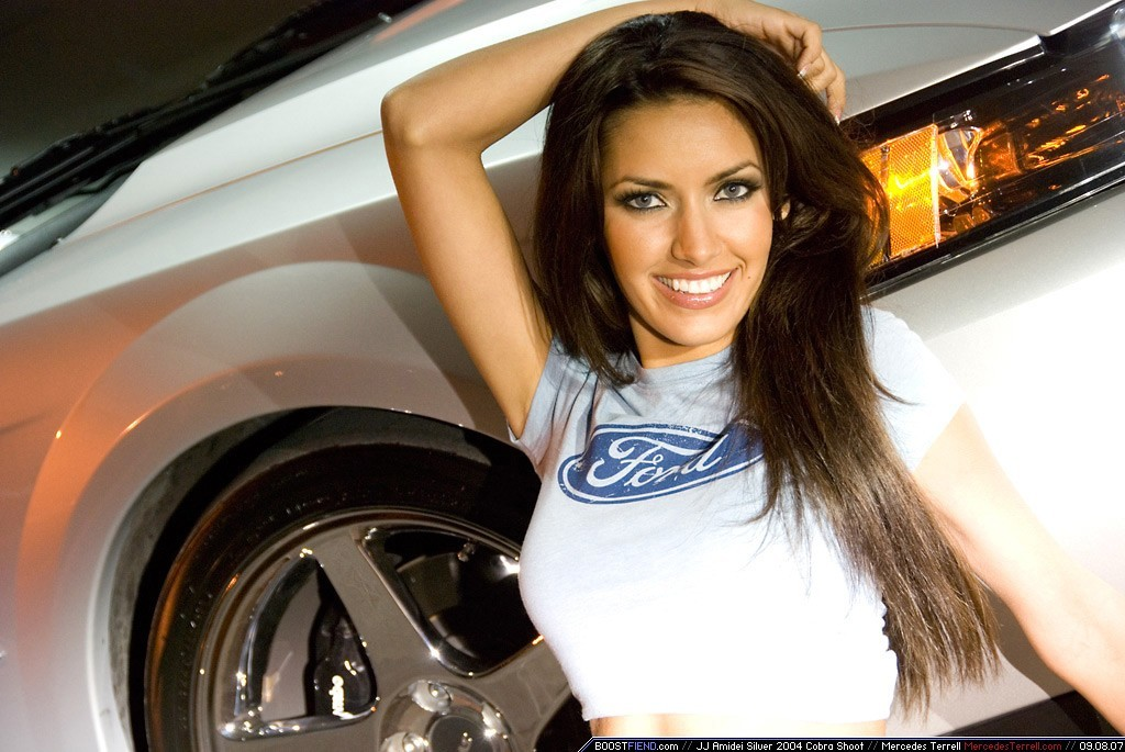 Mercedes Terrell woman Ford HD Wallpaper