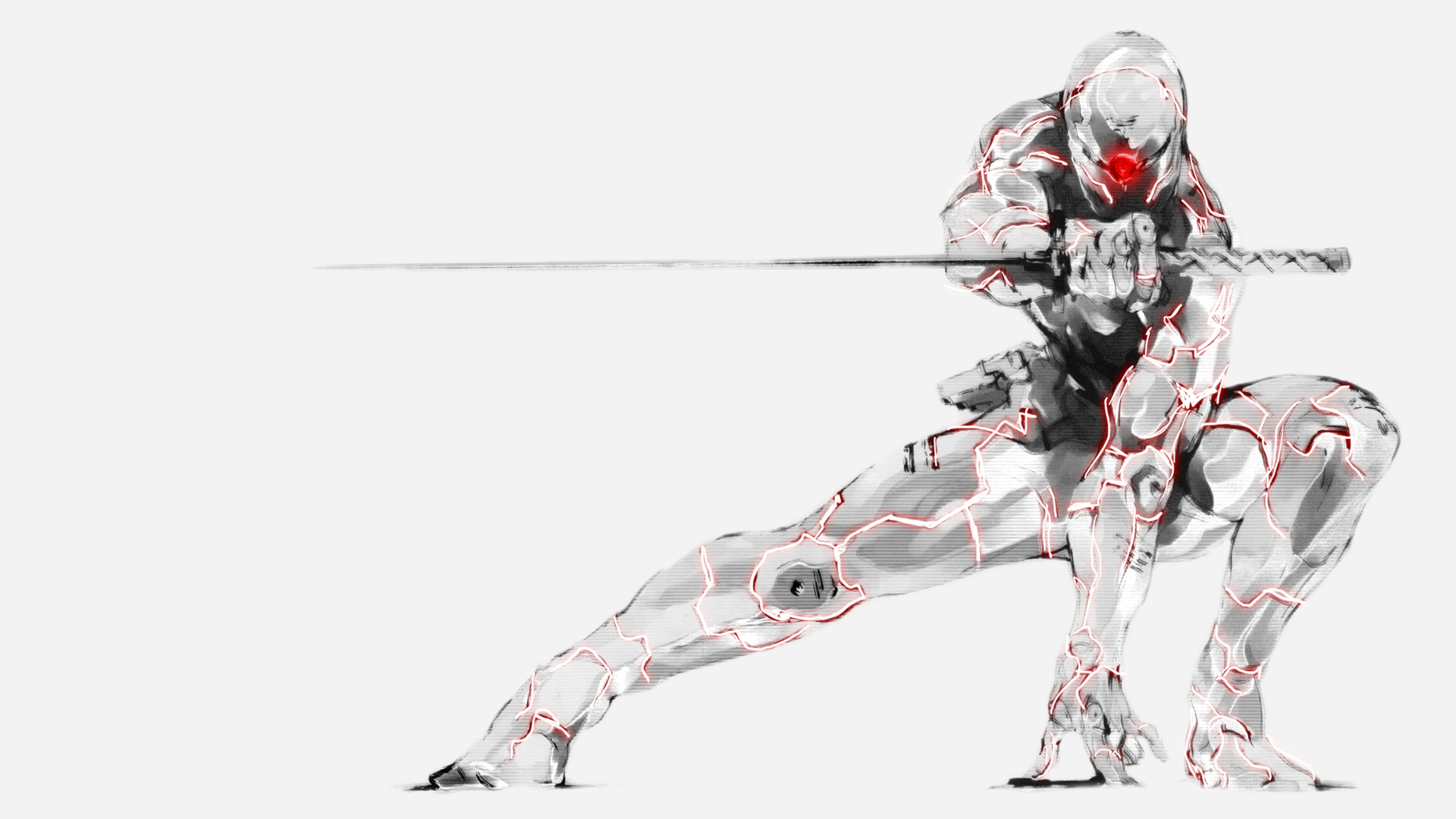 metal Gear solid gray HD Wallpaper