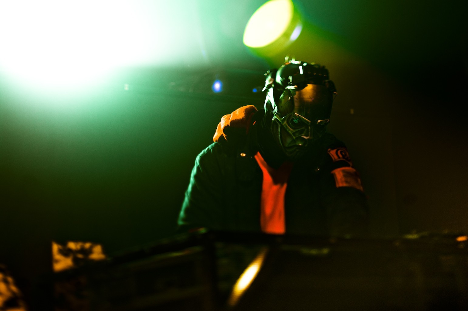 metal live masks slipknot HD Wallpaper