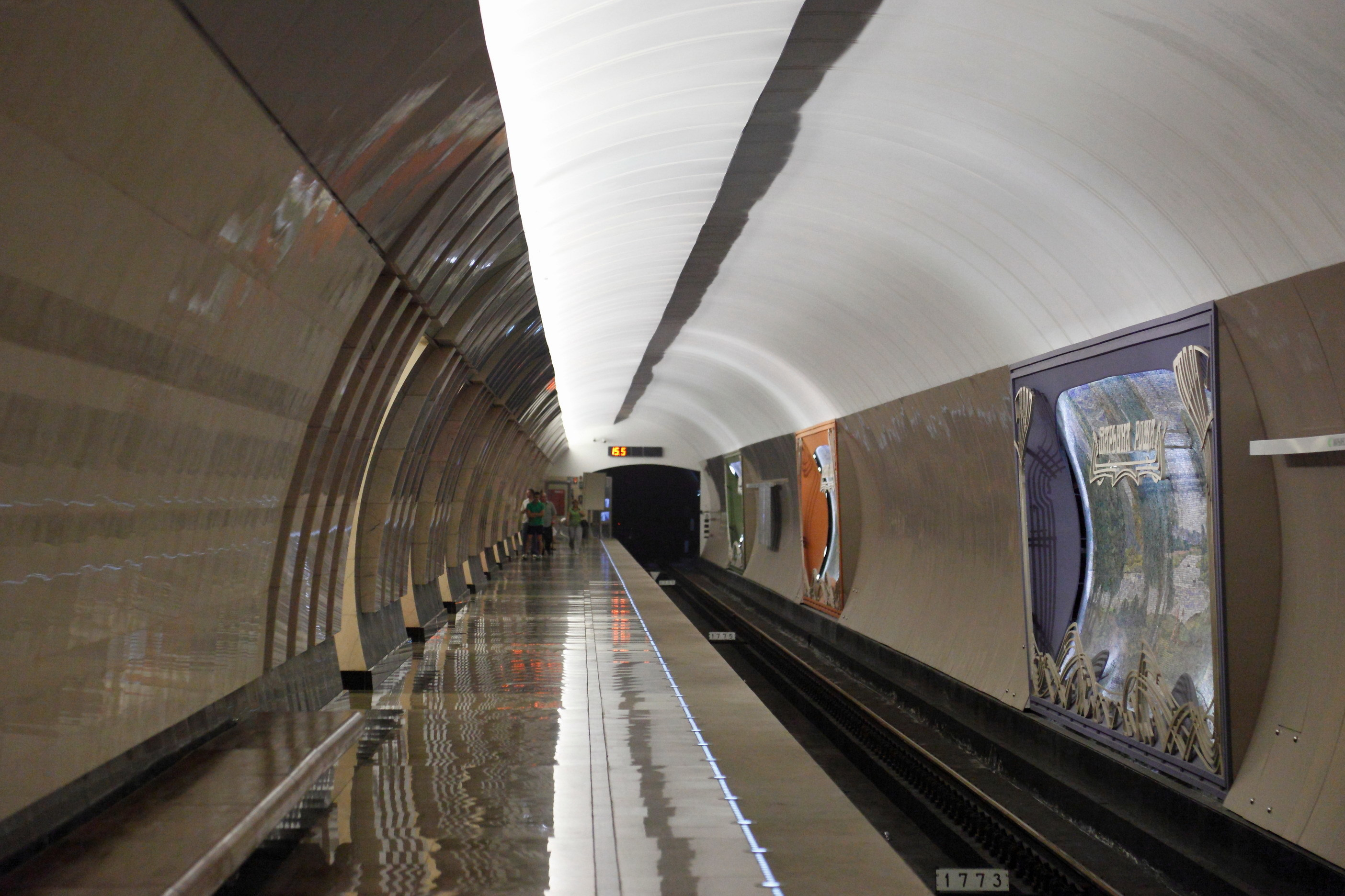 Metro subway tunnel train HD Wallpaper