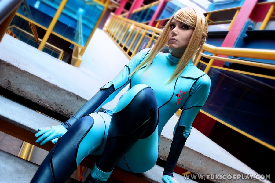 metroid cosplay zero suit HD Wallpaper
