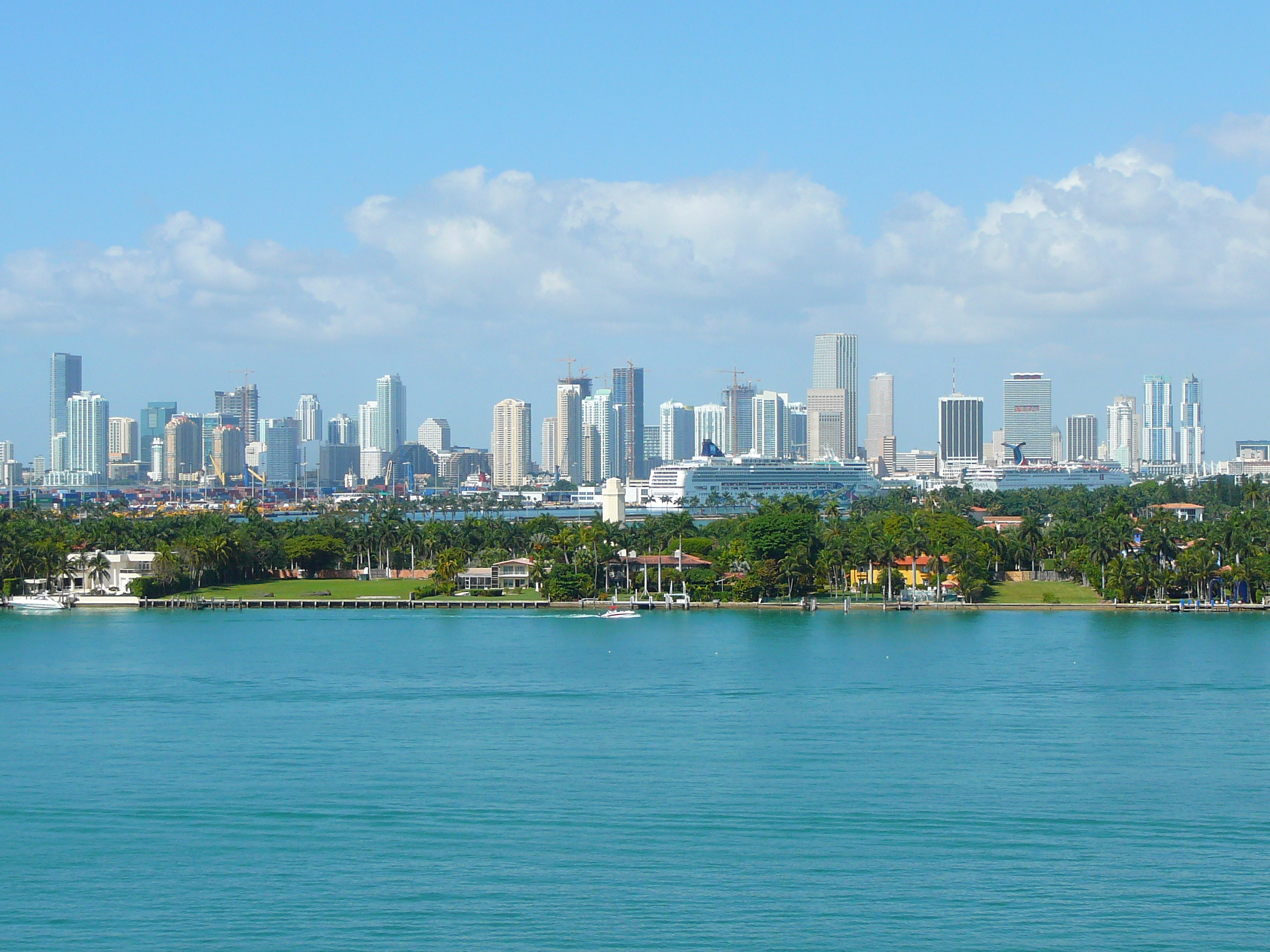Miami skyline part deux HD Wallpaper