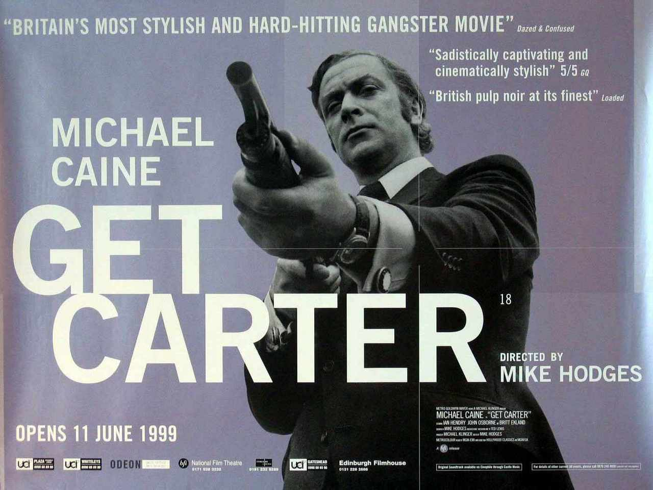 Michael Caine movie posters