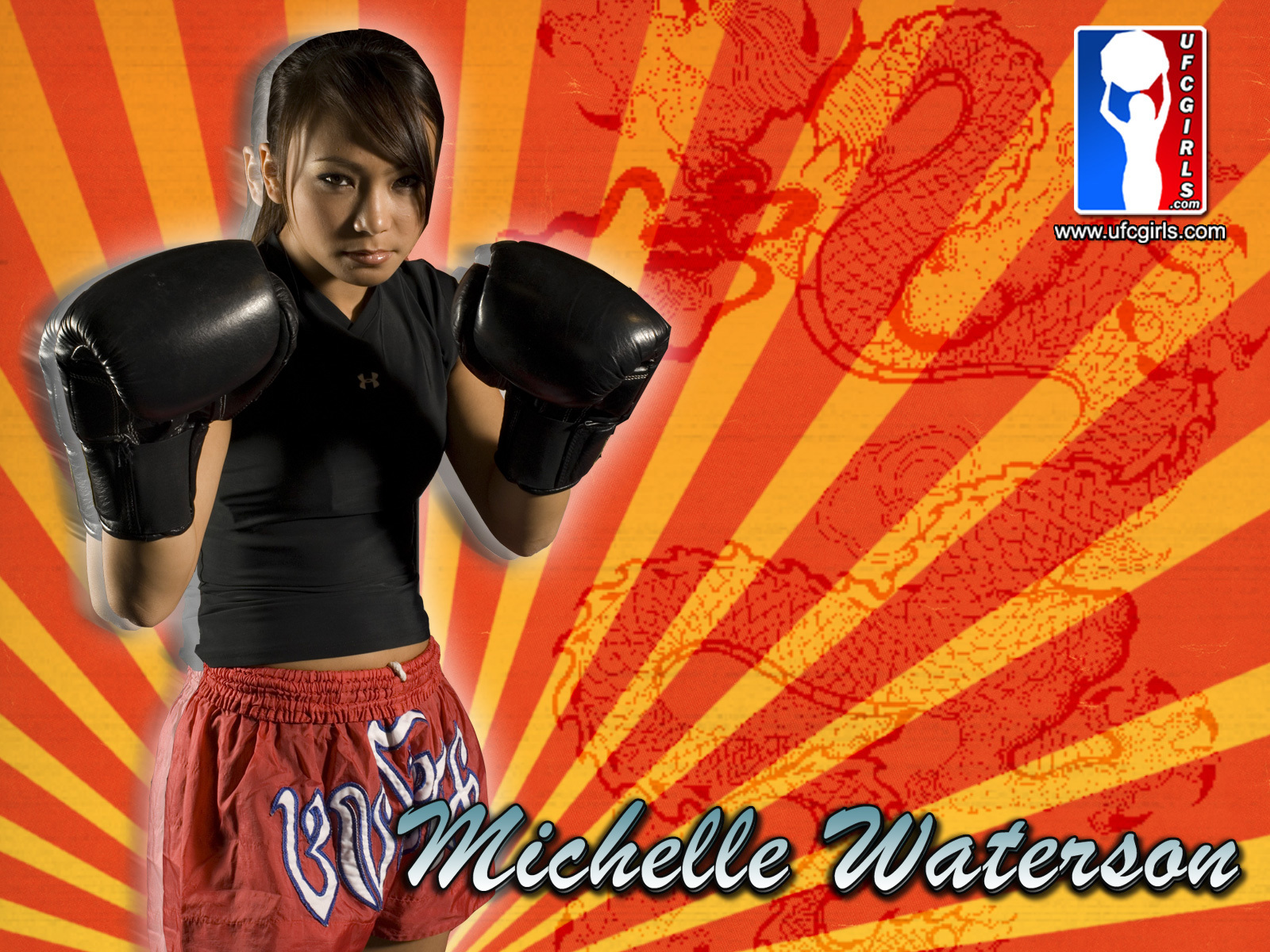michelle waterson mixed Martial HD Wallpaper
