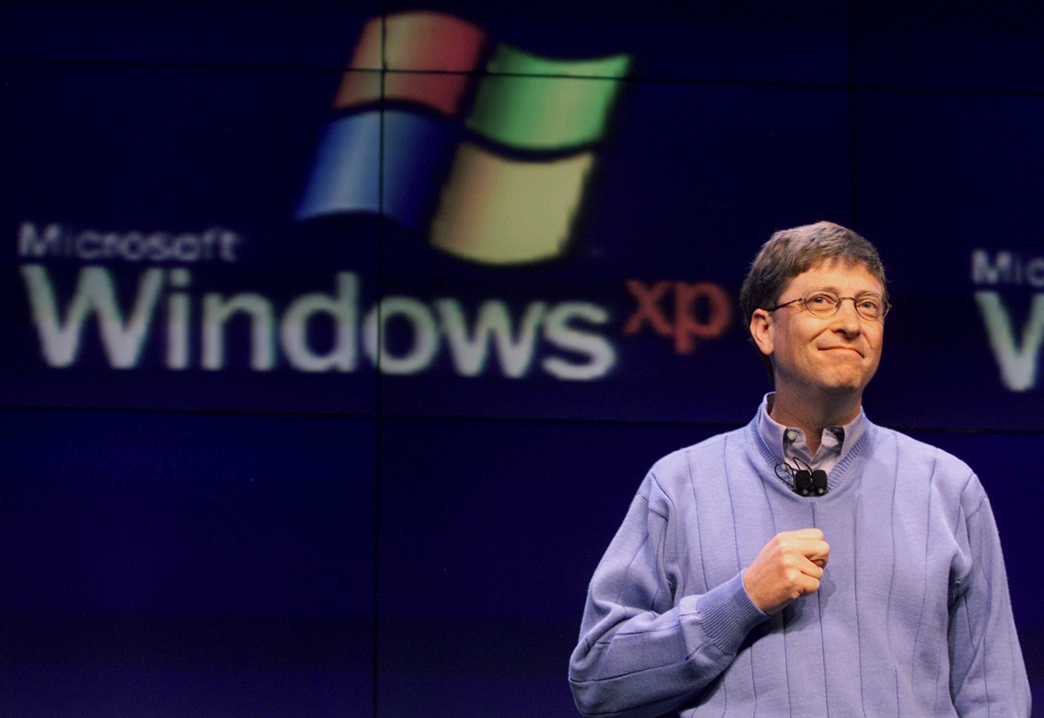 microsoft windows bill gates HD Wallpaper