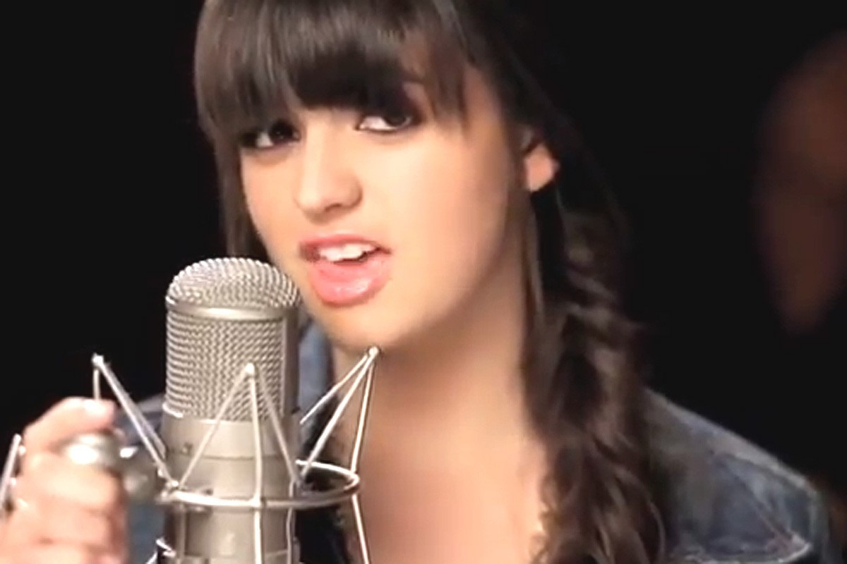 mike Rebecca Black singing HD Wallpaper