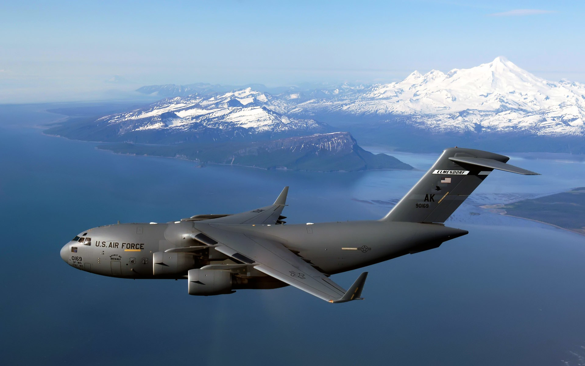military airplanes c-17 globemaster HD Wallpaper